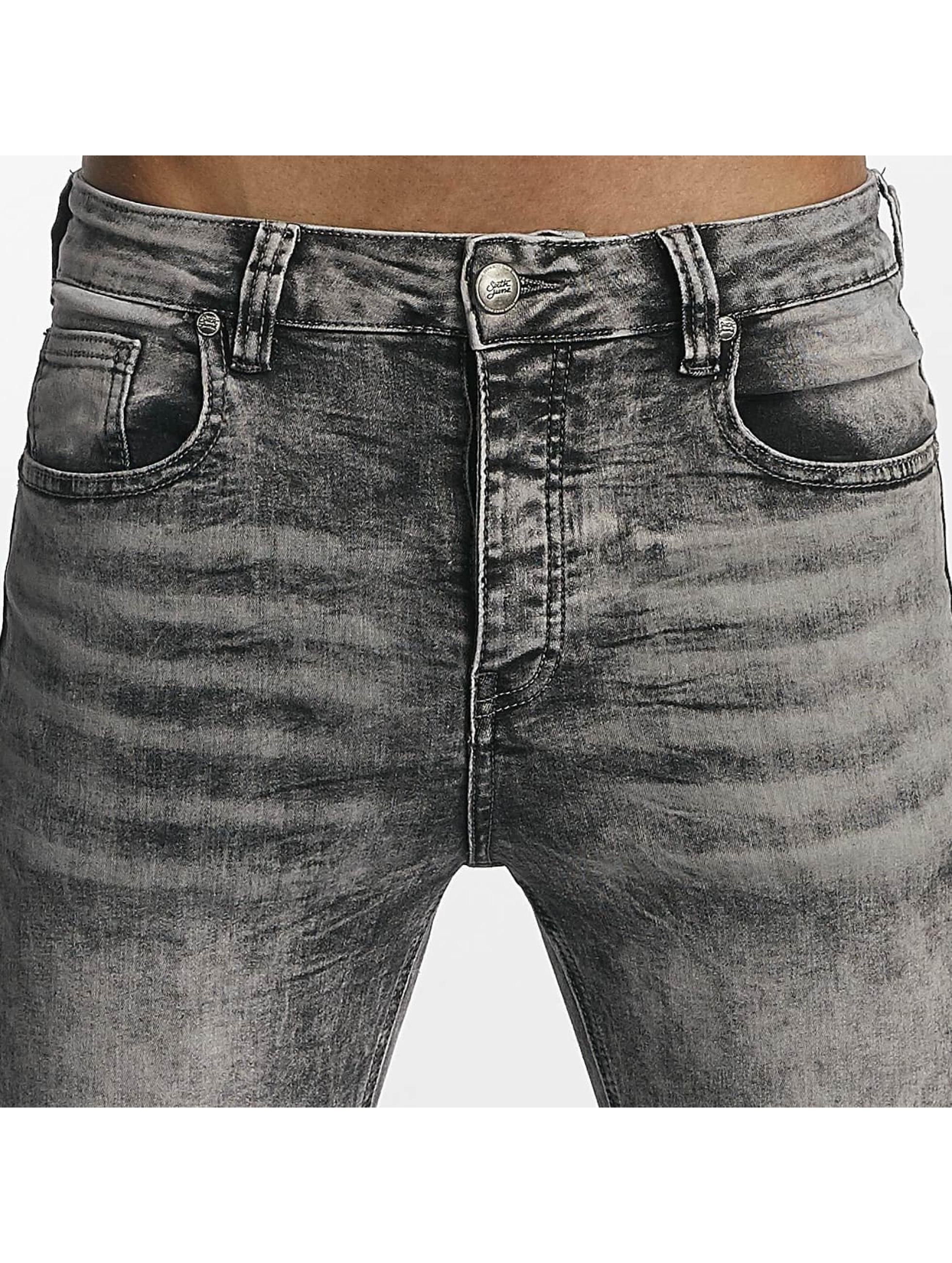 Sixth June Jeans ajustado Classic Slimfit gris