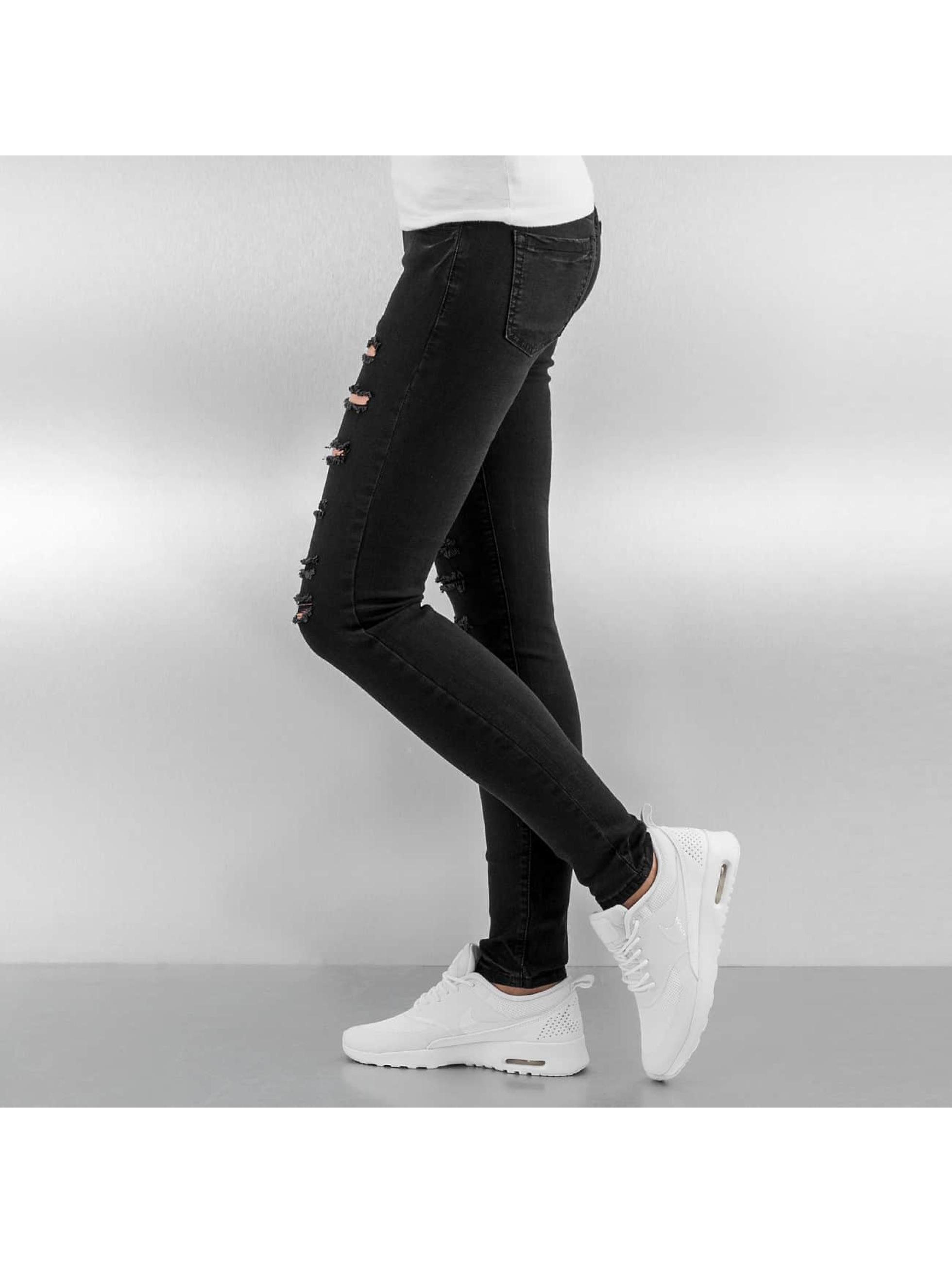 Sixth June Jeans slim fit Destroyed nero
