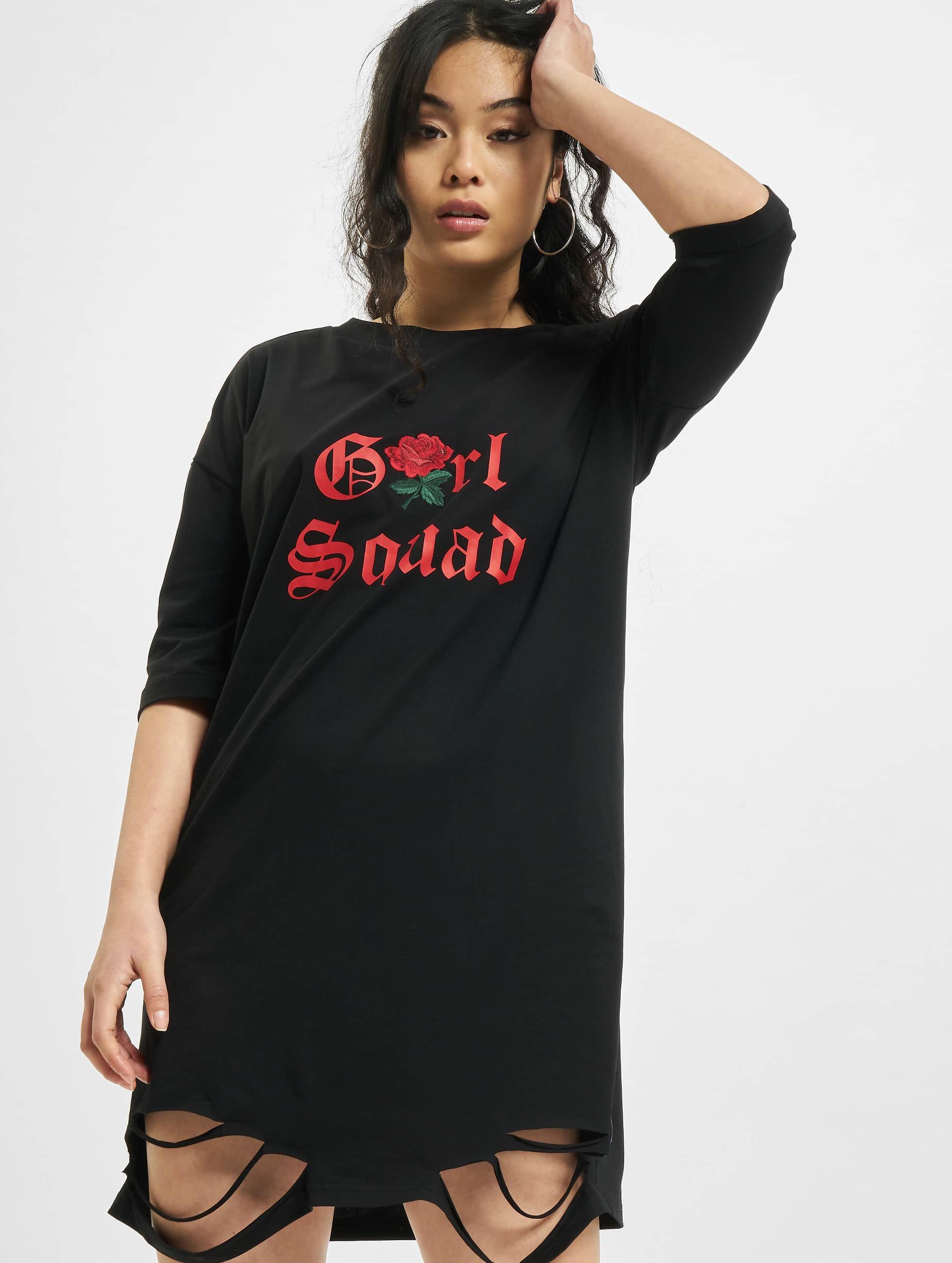 Sixth June jurk Girl Squad zwart