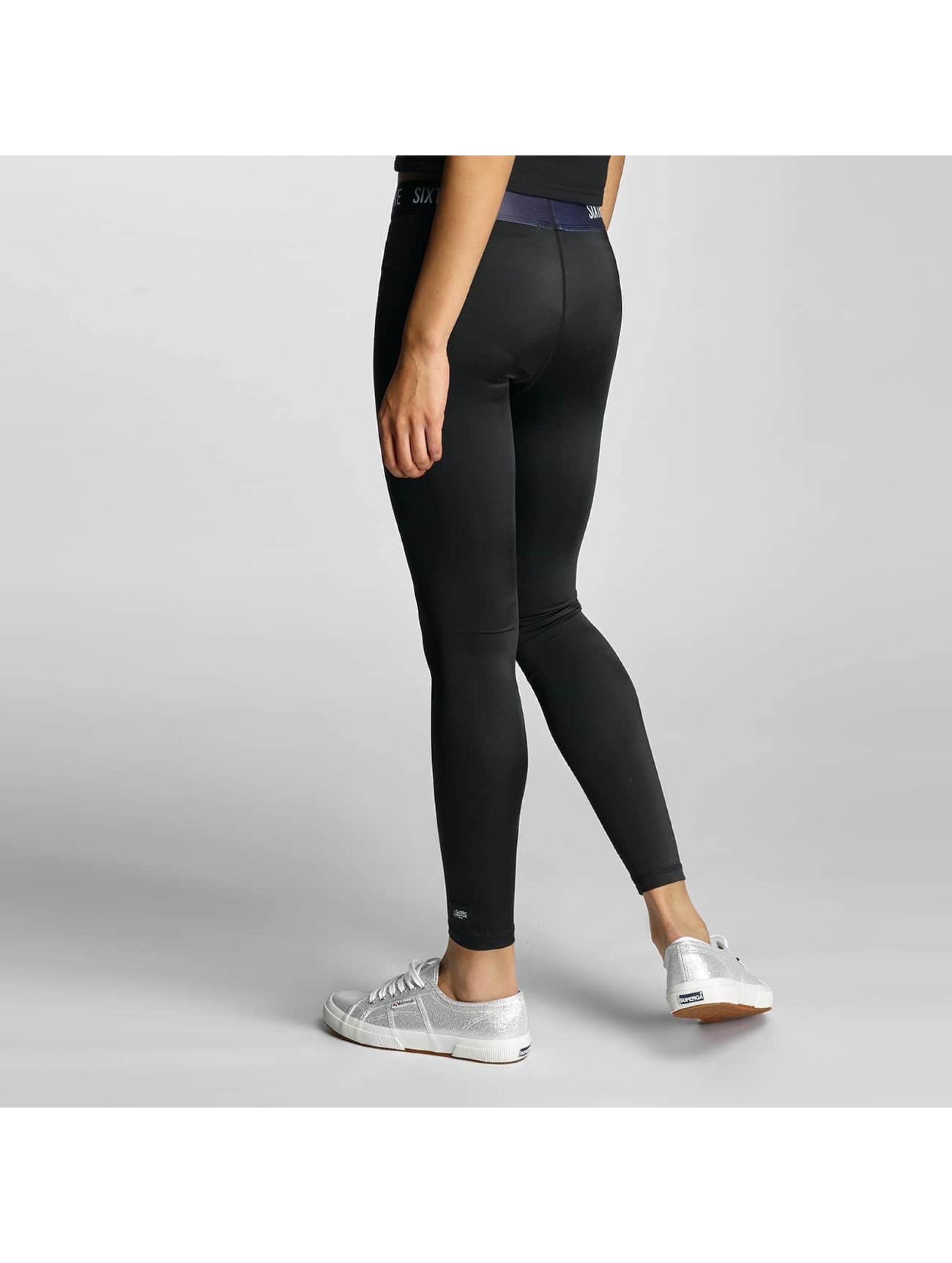 Sixth June Legging Logo schwarz