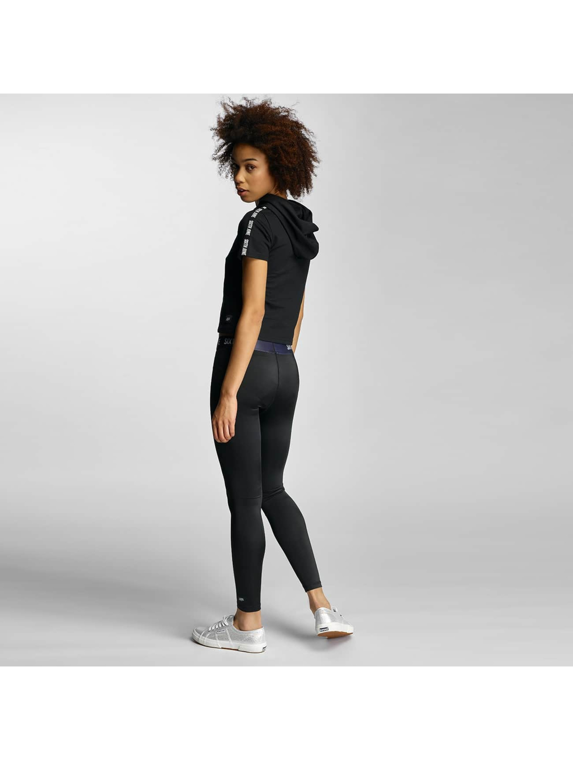 Sixth June Leggings/Treggings Logo svart