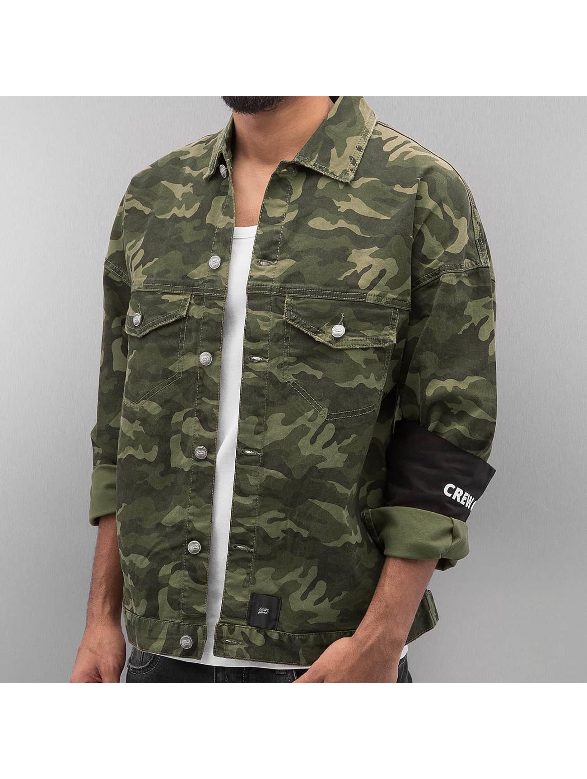 Sixth June Lightweight Jacket Oversized Denim camouflage