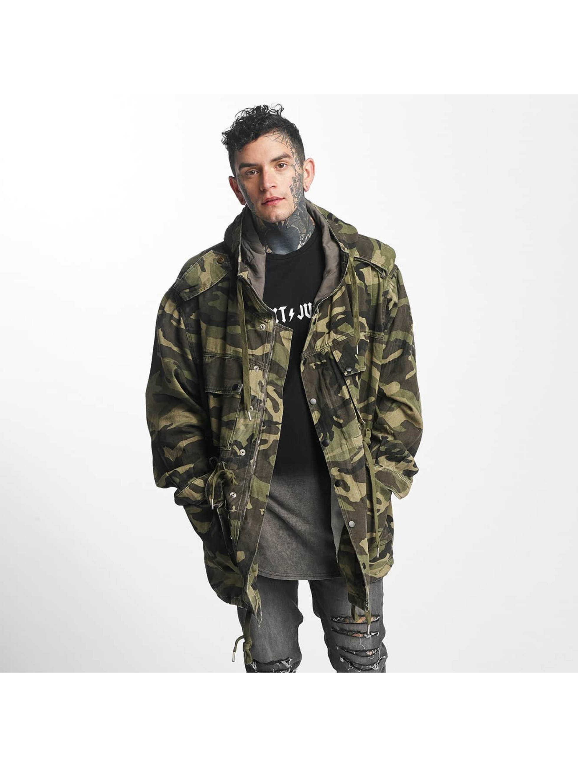 Sixth June Light Parka camouflage Manteau homme
