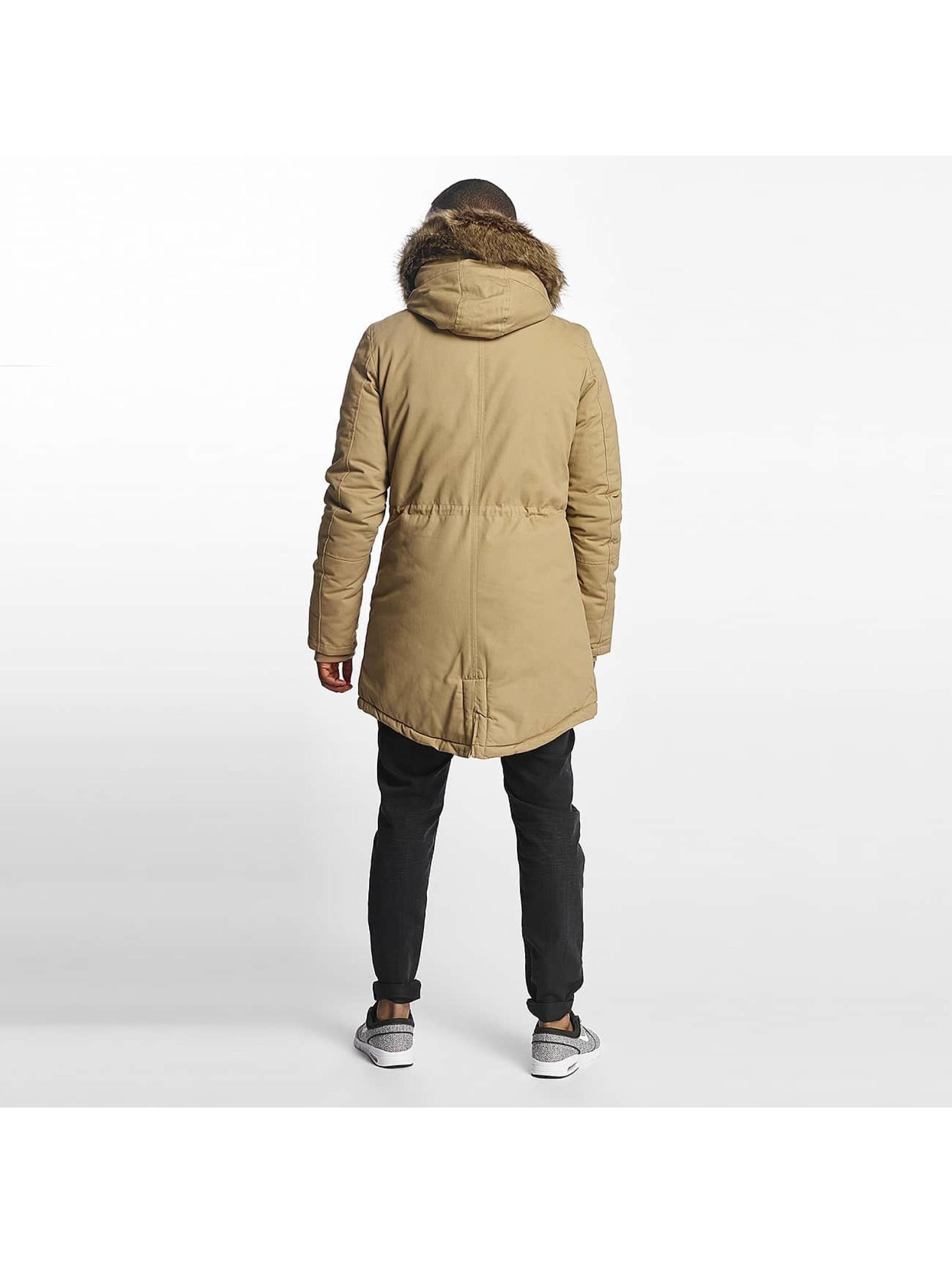 Sixth June Manteau hiver Fur beige