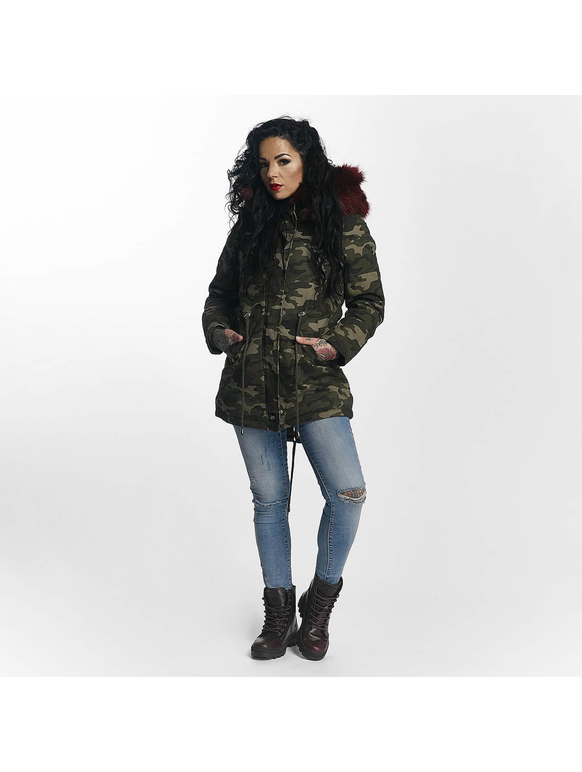 Sixth June Manteau hiver Ultra Oversize camouflage