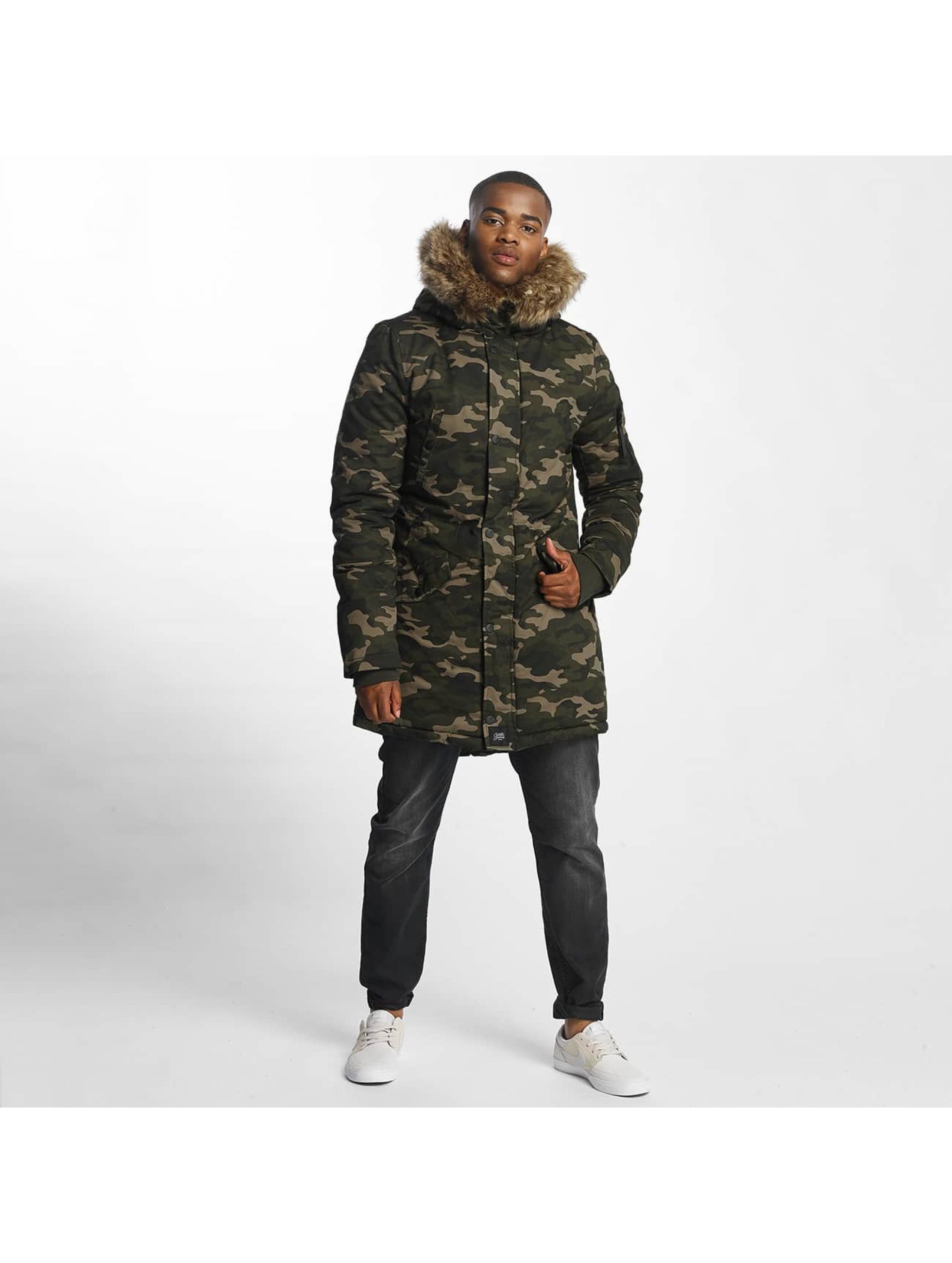 Sixth June Manteau hiver Fur camouflage