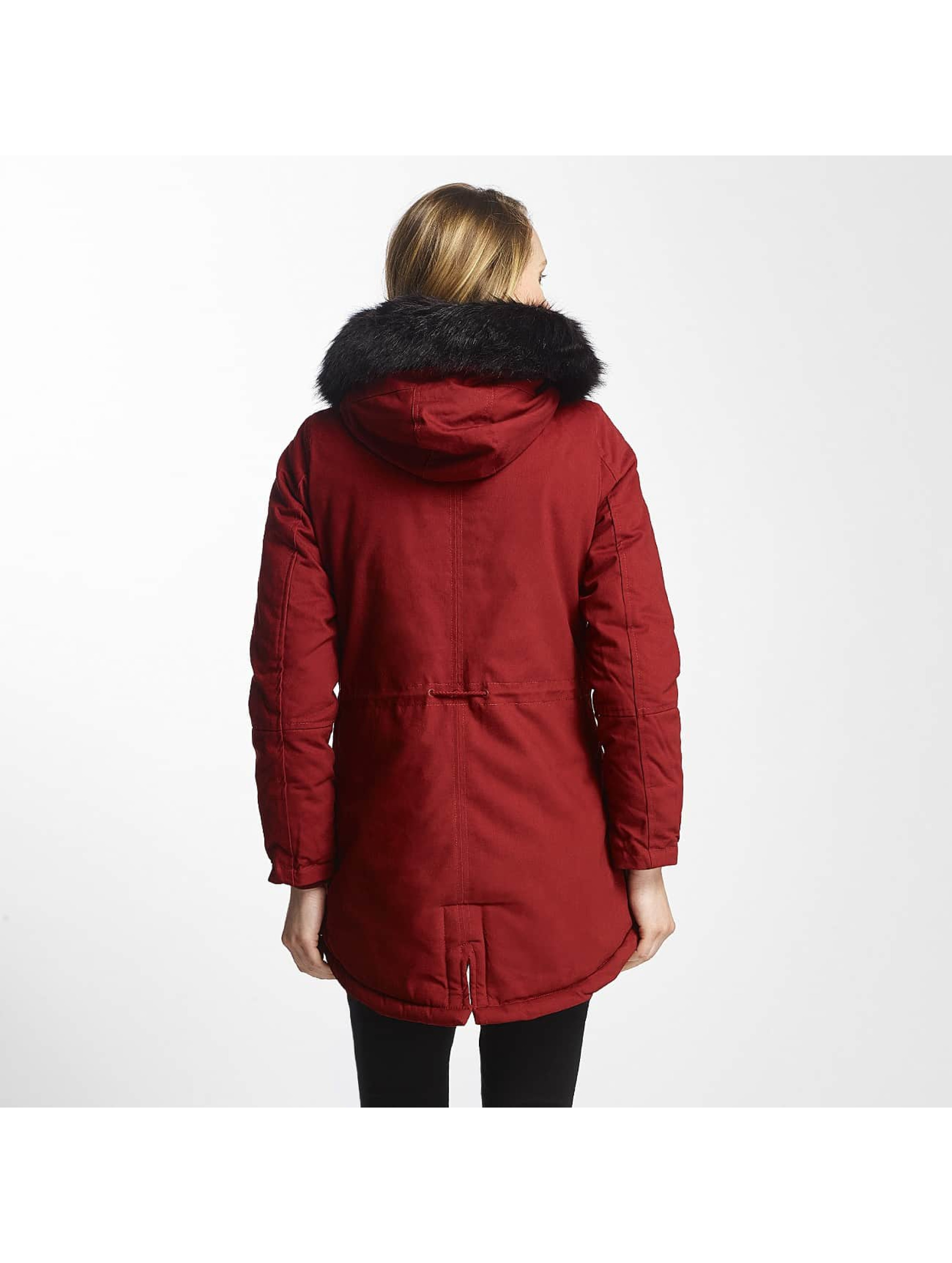 Sixth June Manteau hiver Oversize rouge