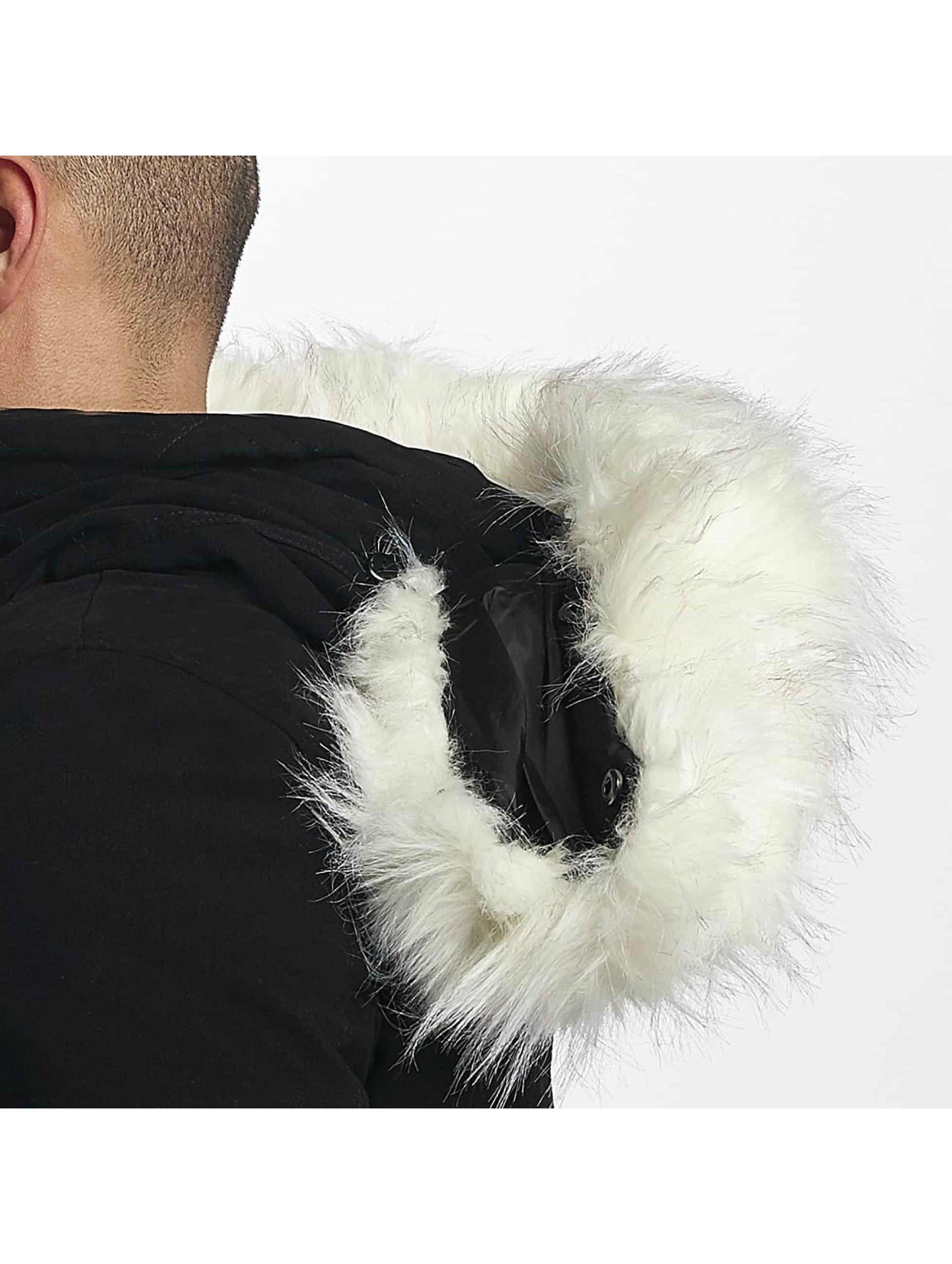 sixth june herren mantel ultra oversized in schwarz 415136. Black Bedroom Furniture Sets. Home Design Ideas