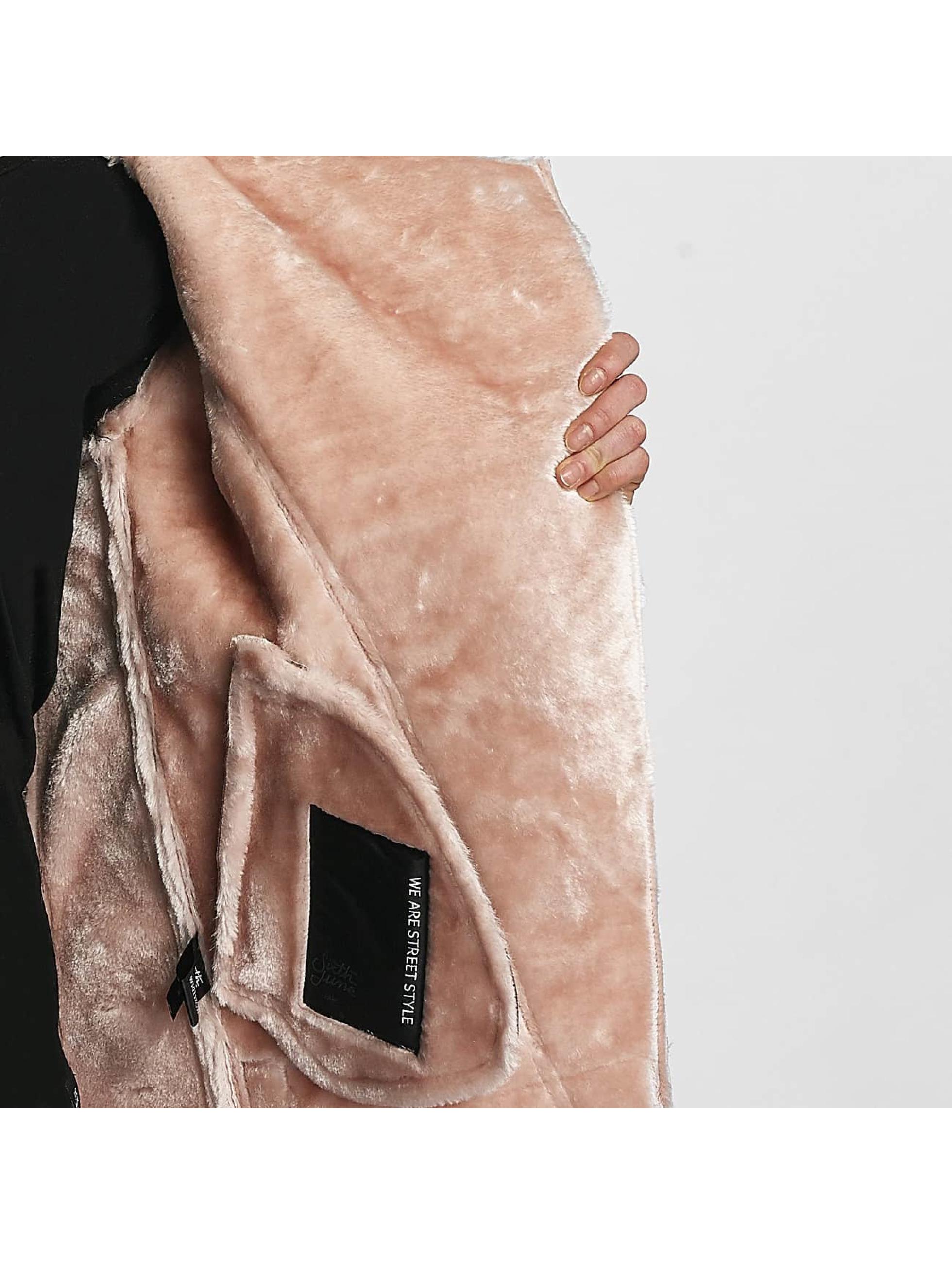 Sixth June Nahkatakit Perfecto Fur roosa