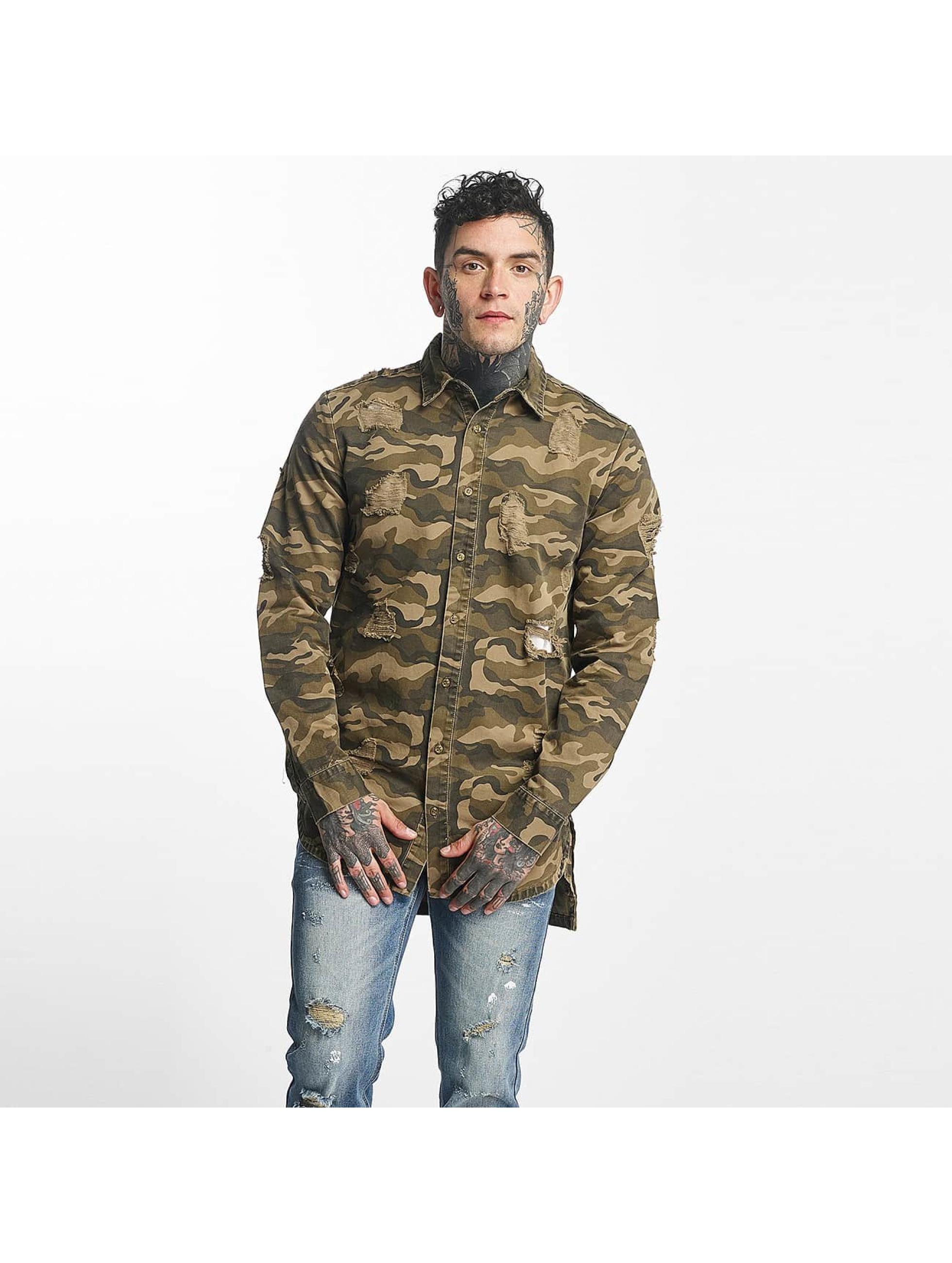 Sixth June heren overhemd Oversize - camouflage