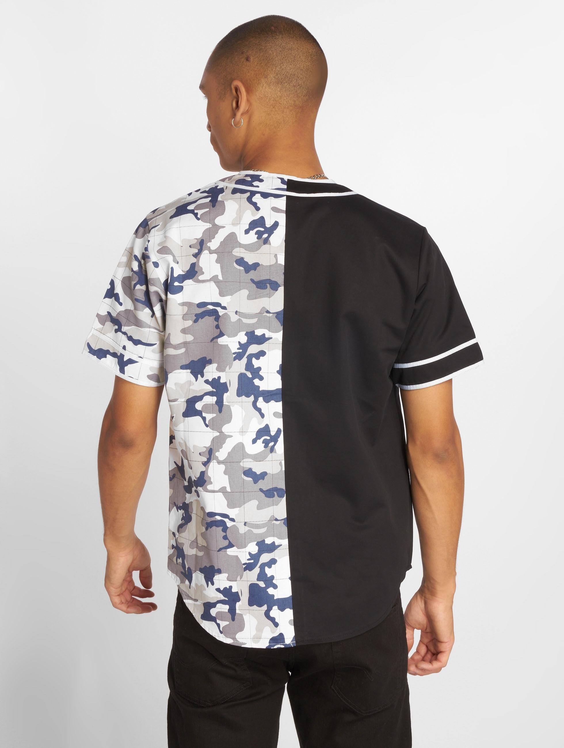Sixth June overhemd Bicoloured zwart
