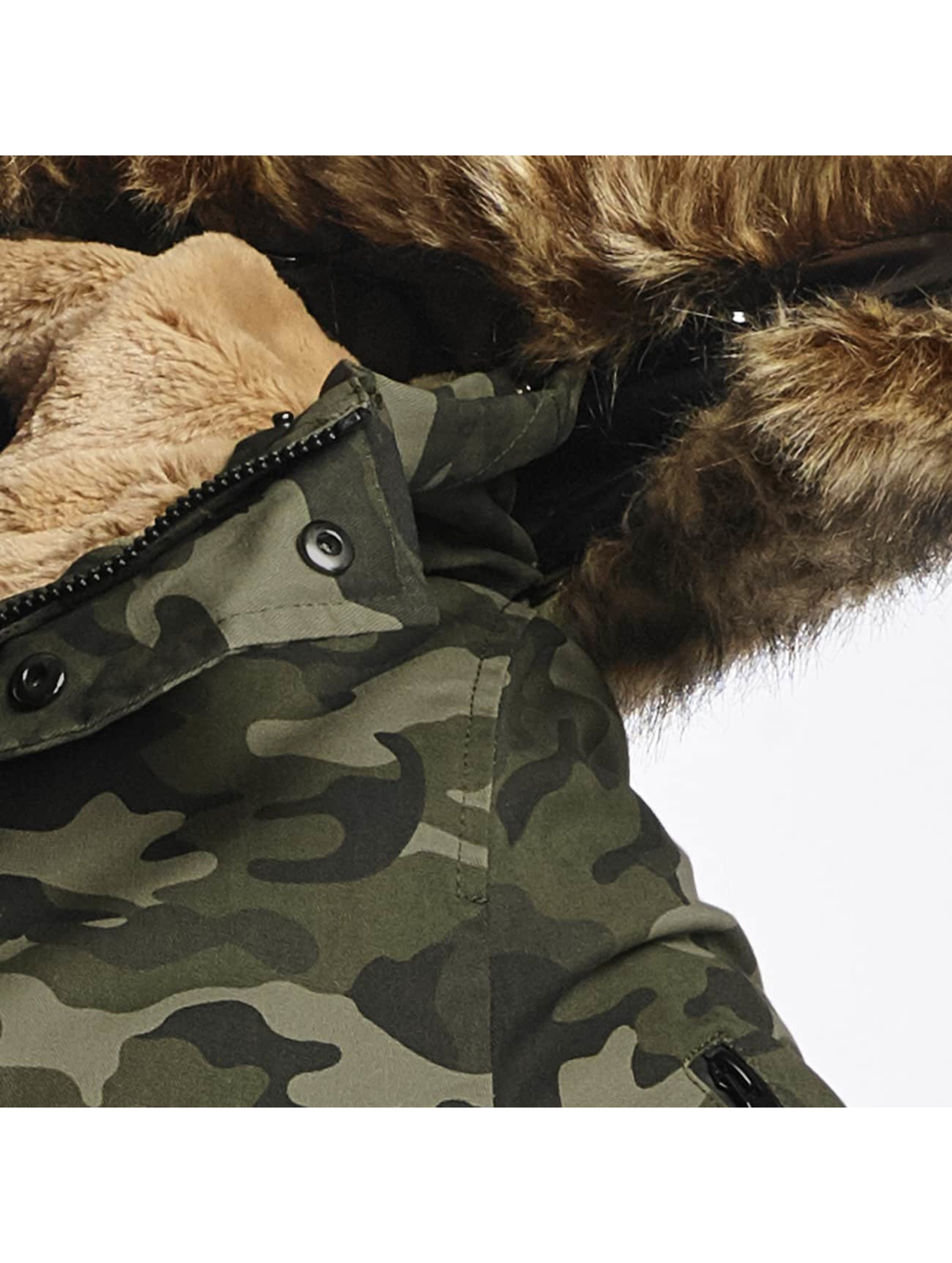 Sixth June Parka Ultra Oversized camouflage