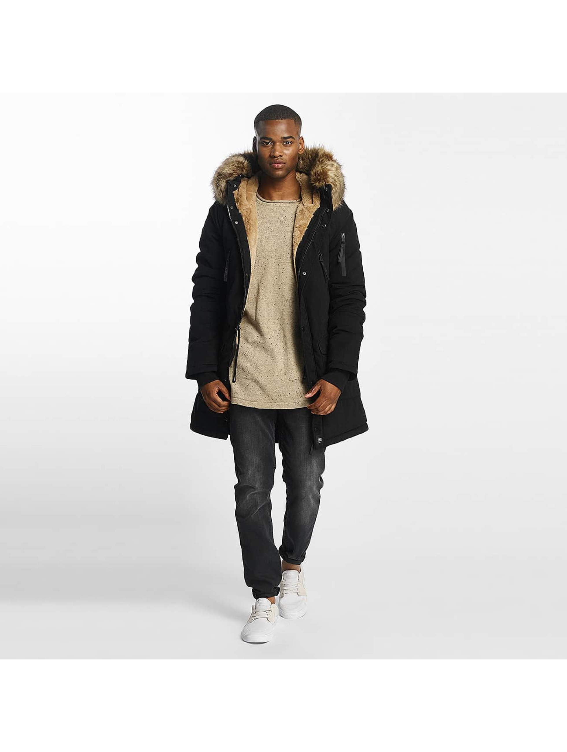 Sixth June Parka Ultra Oversized zwart