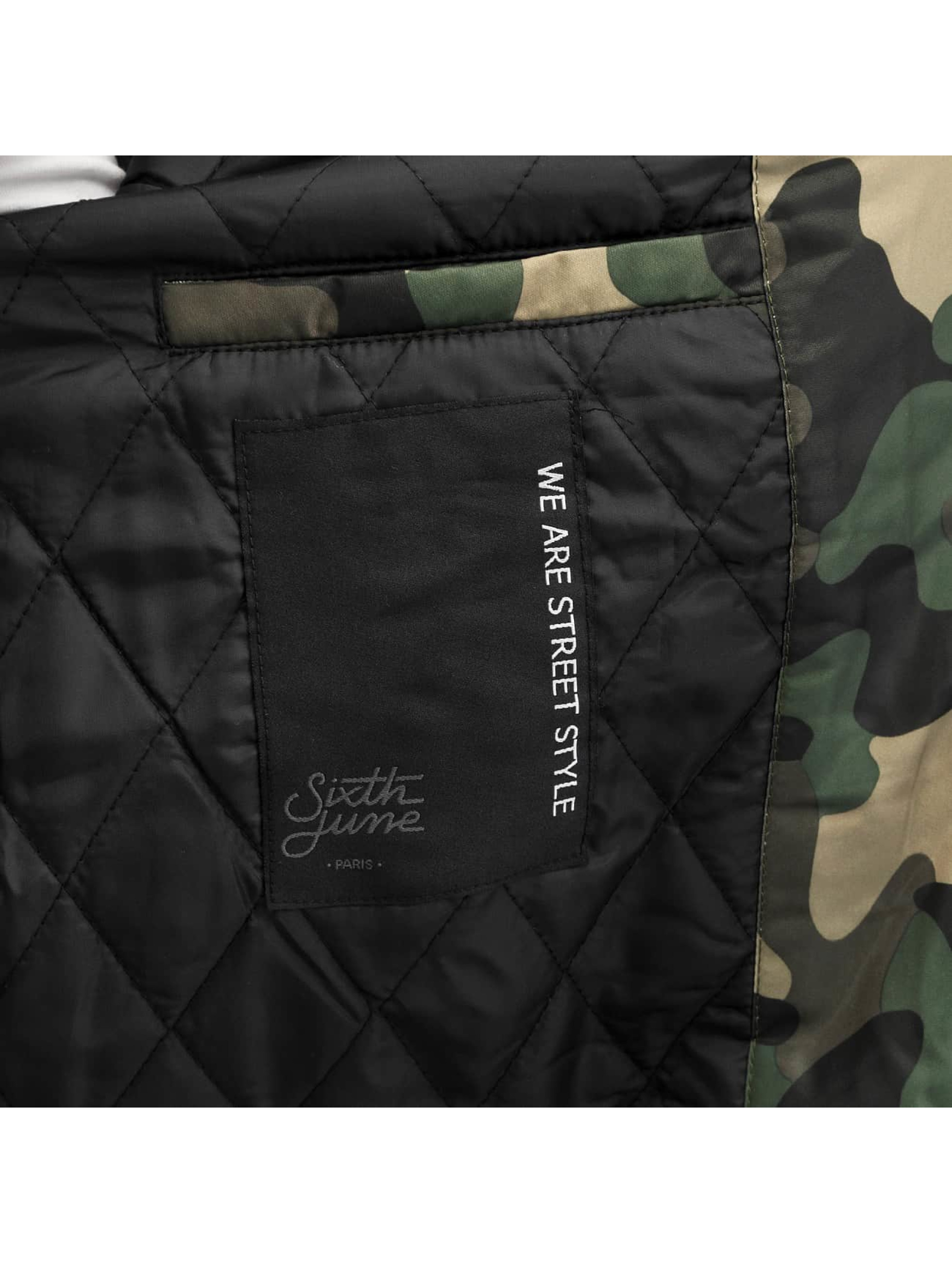 Sixth June Pilottitakit Camou camouflage