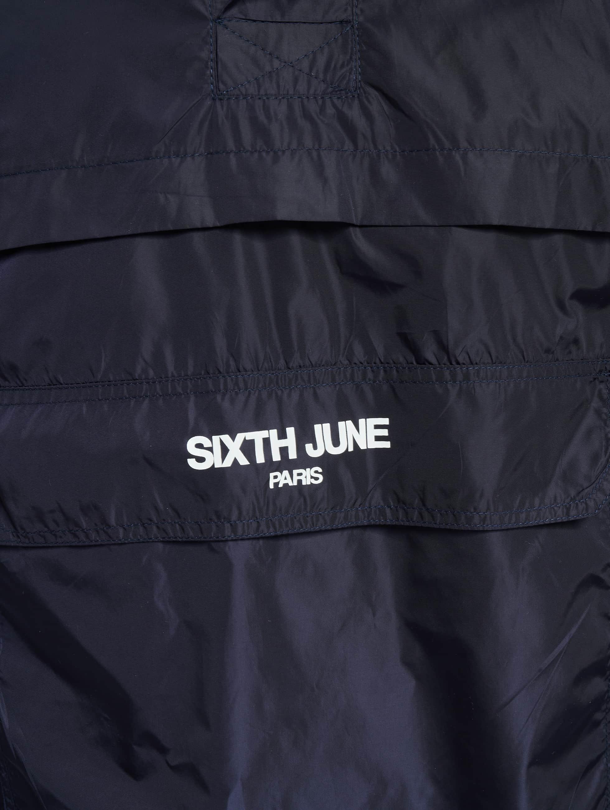 Sixth June Prechodné vetrovky Transition modrá