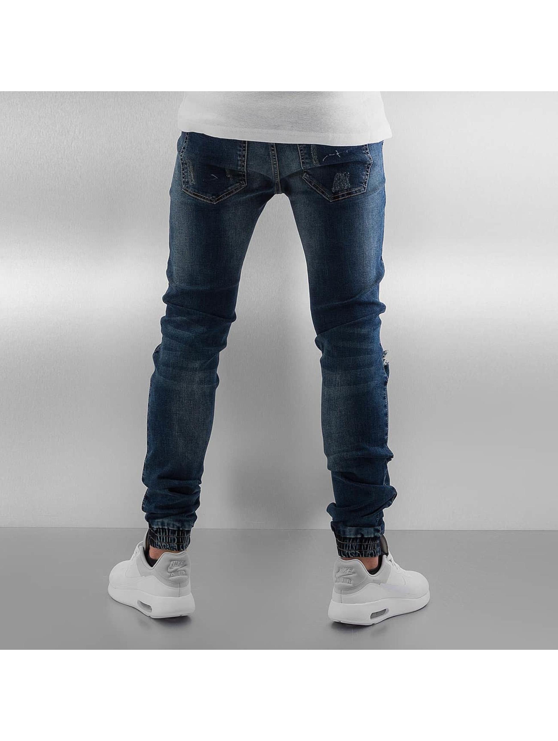 Sixth June Skinny jeans Elasticated blå