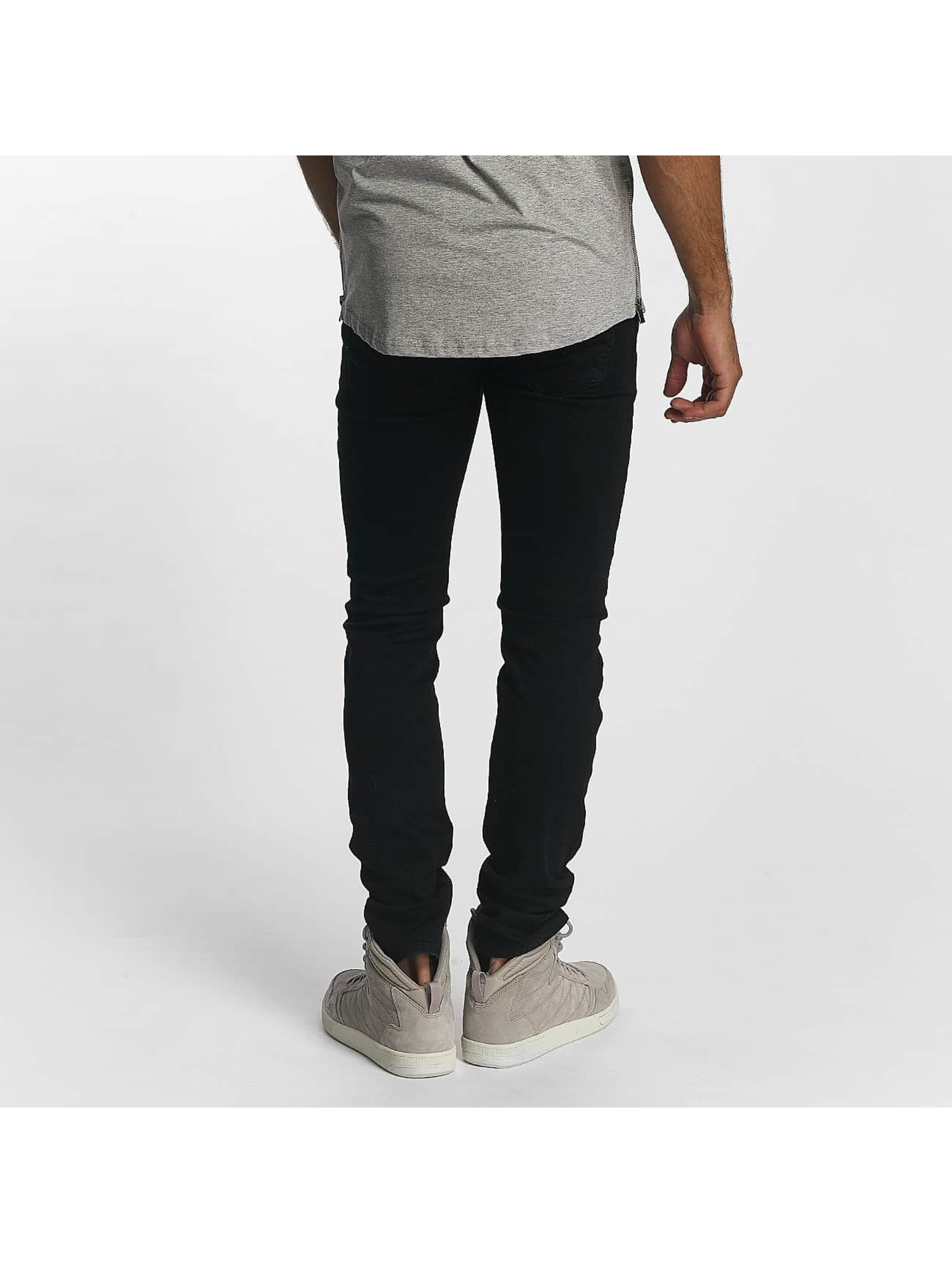 Sixth June Skinny Jeans Skinny Destroyed black
