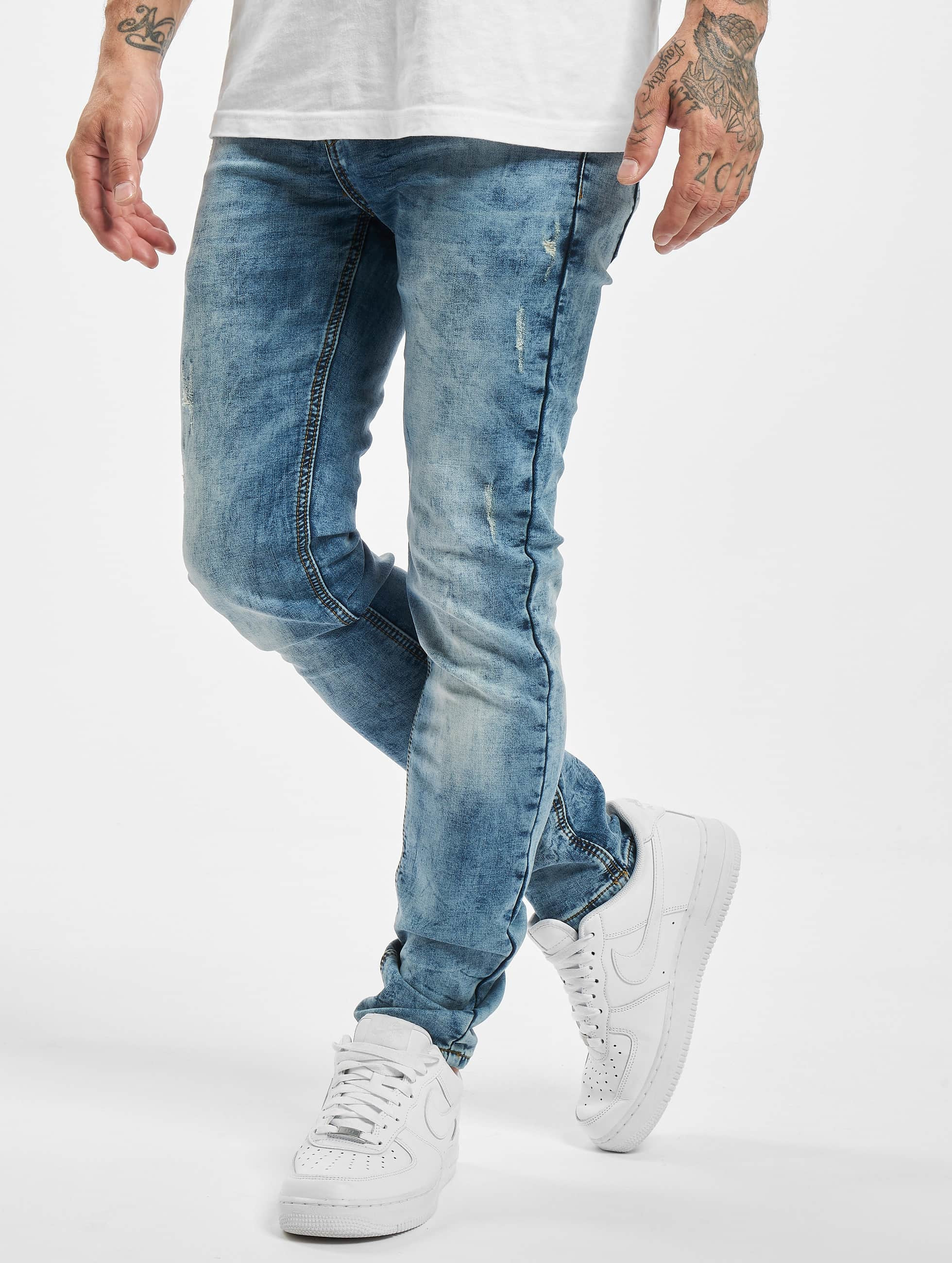 Sixth June Skinny Jeans Not So Basic blau