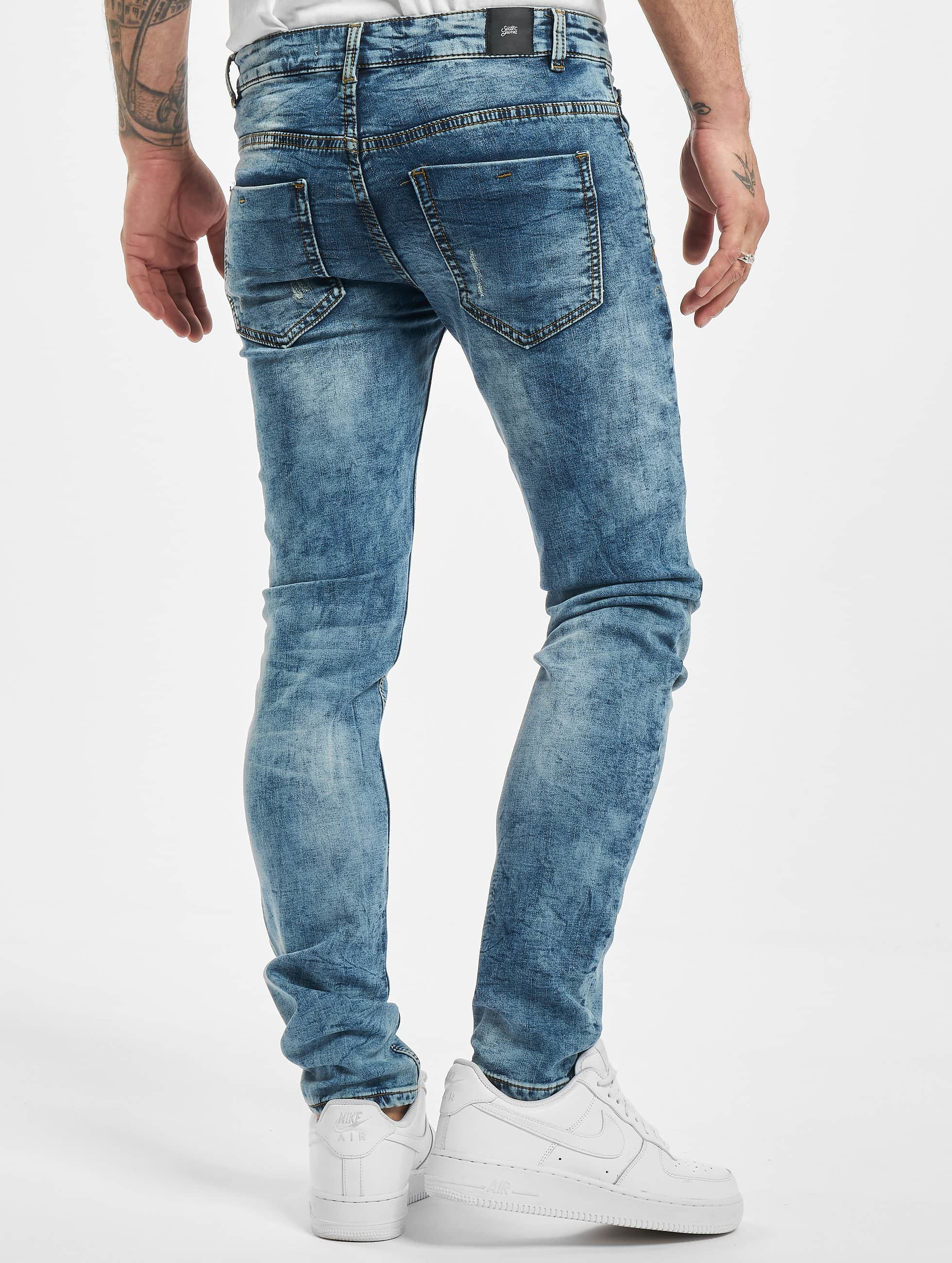 Sixth June Skinny jeans Not So Basic blauw