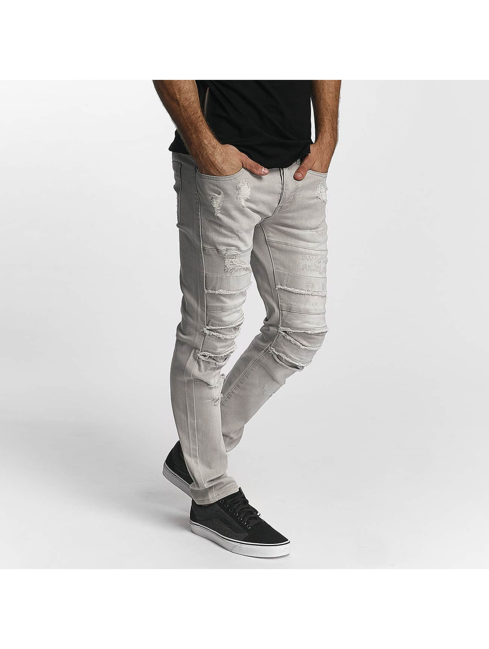 Sixth June Skinny Jeans Skinny Destroyed gray