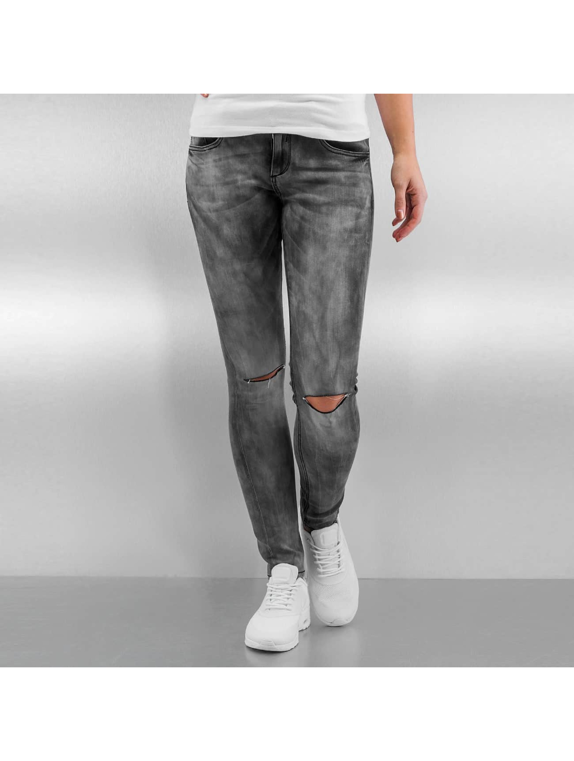 Sixth June Skinny jeans Tie and Dye grijs