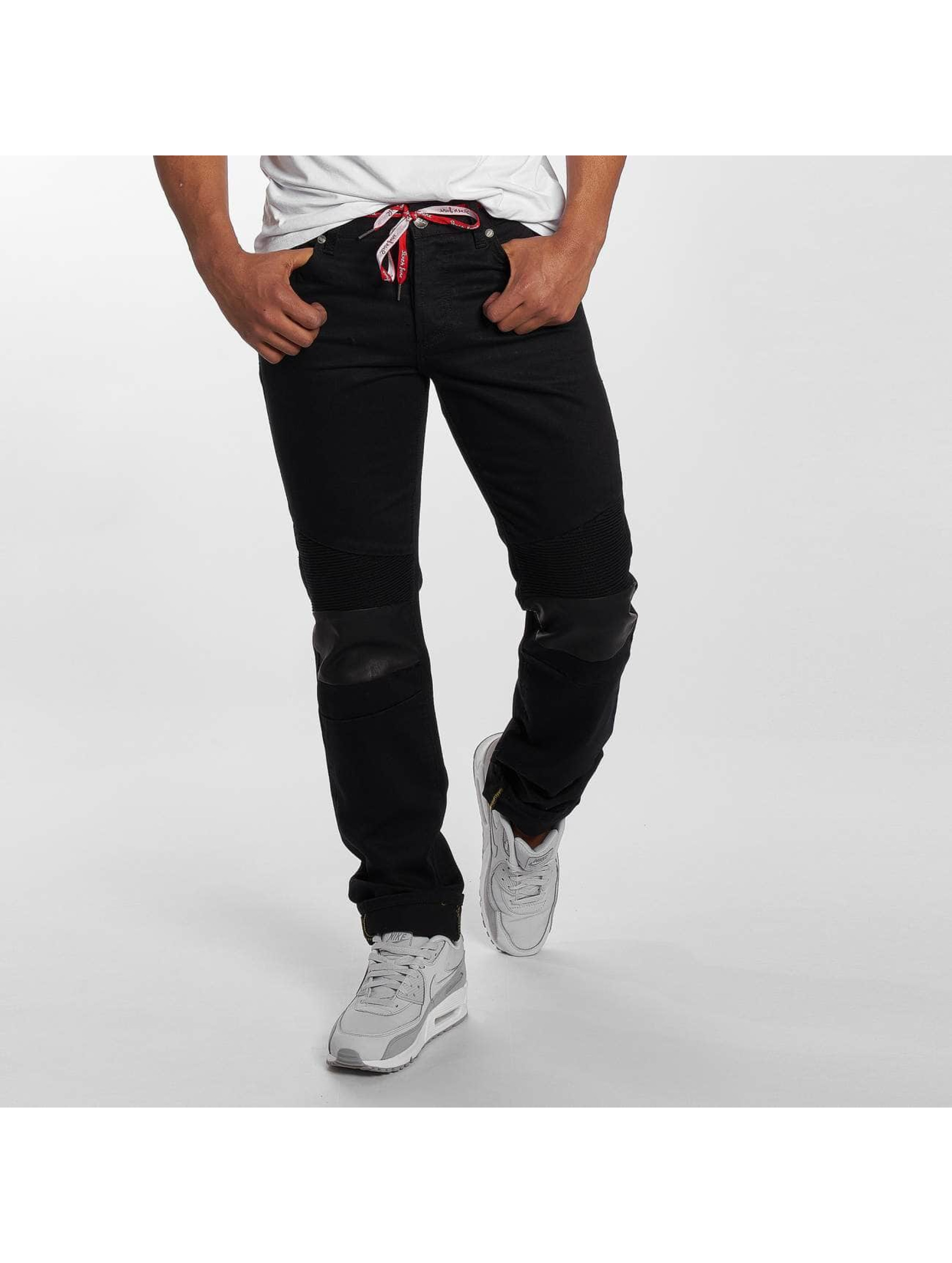 Sixth June Skinny Jeans Branko schwarz
