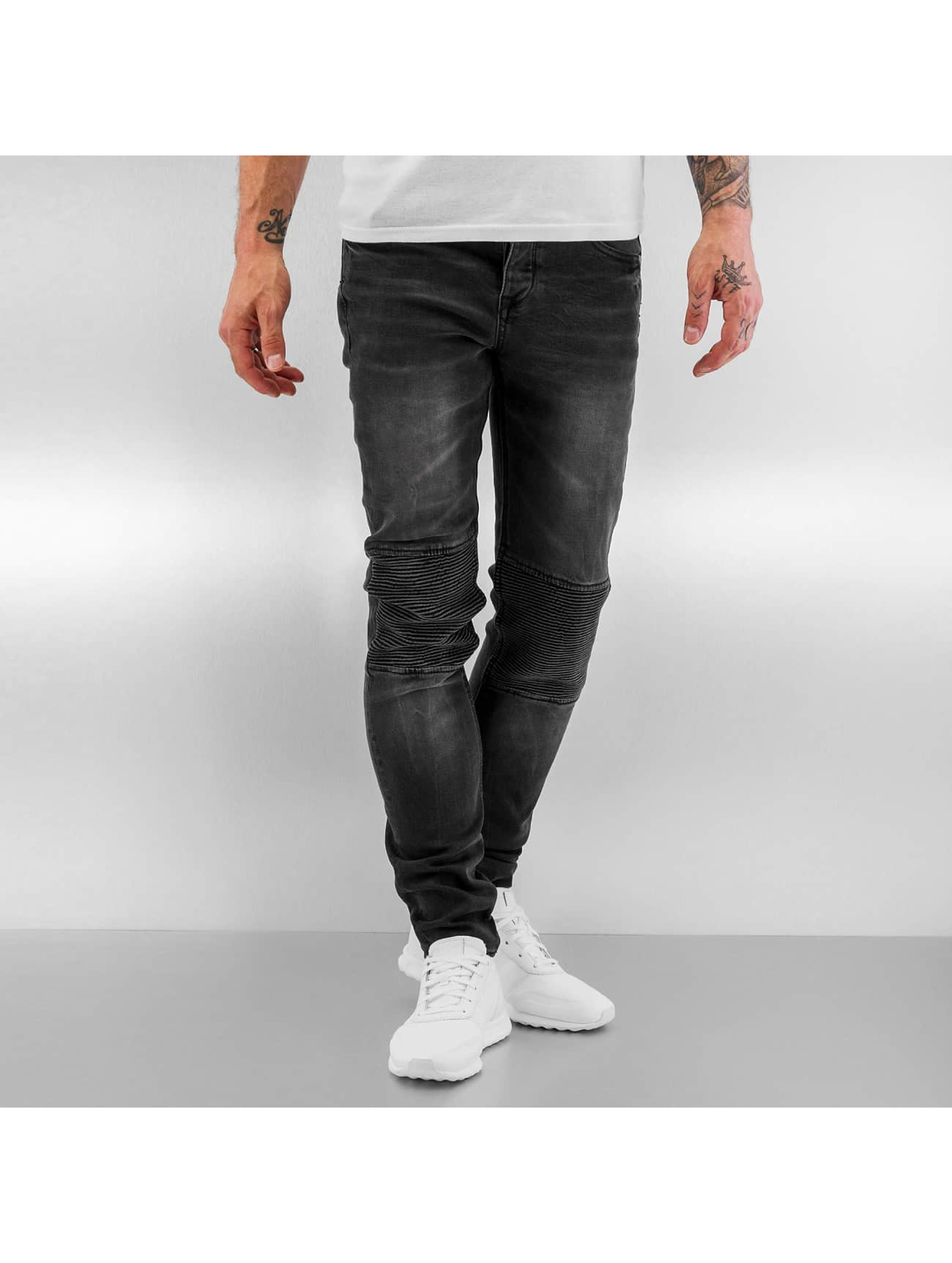 Sixth June Skinny jeans Biker svart