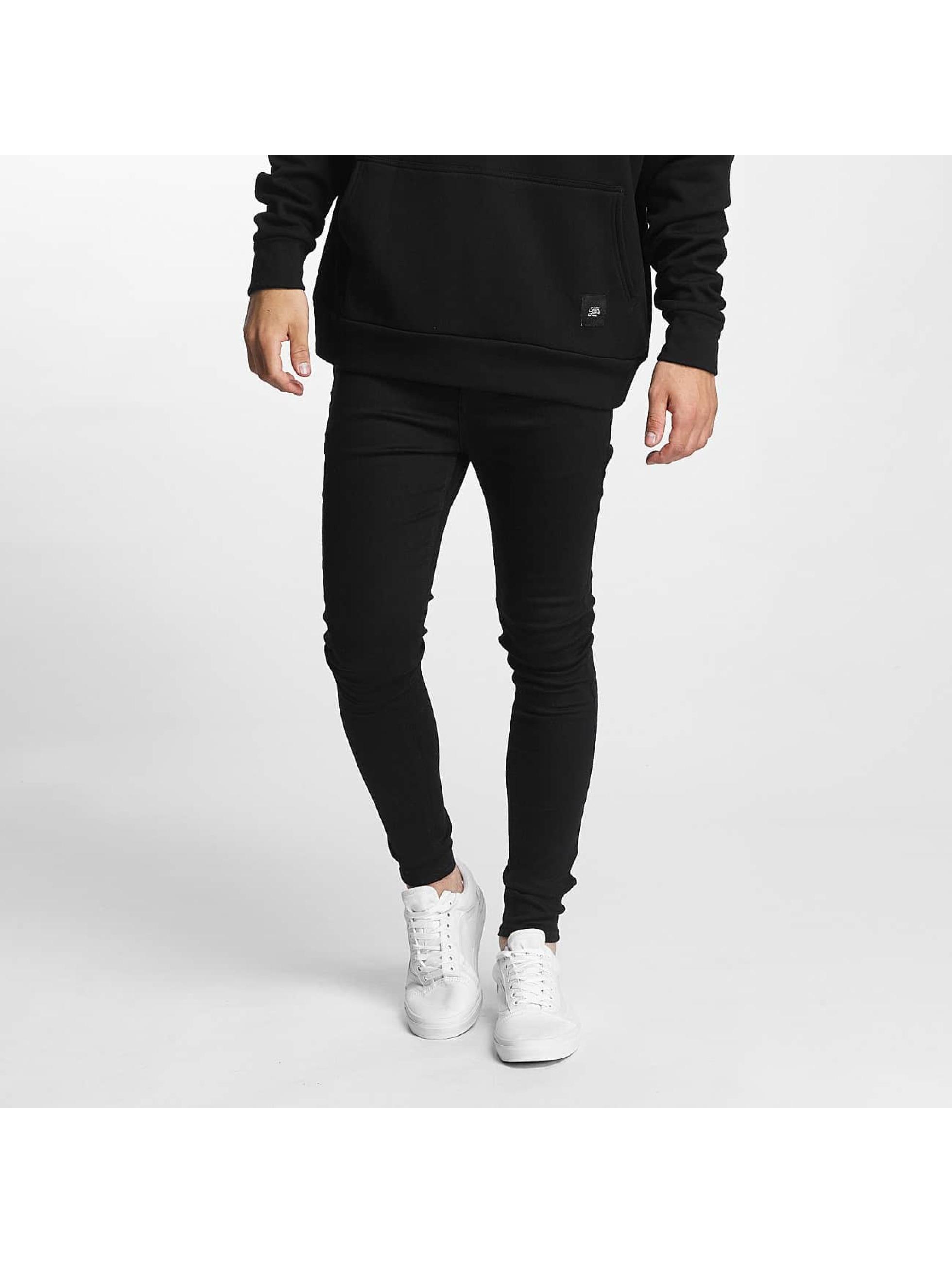 Sixth June heren skinny jeans Basic Super - zwart