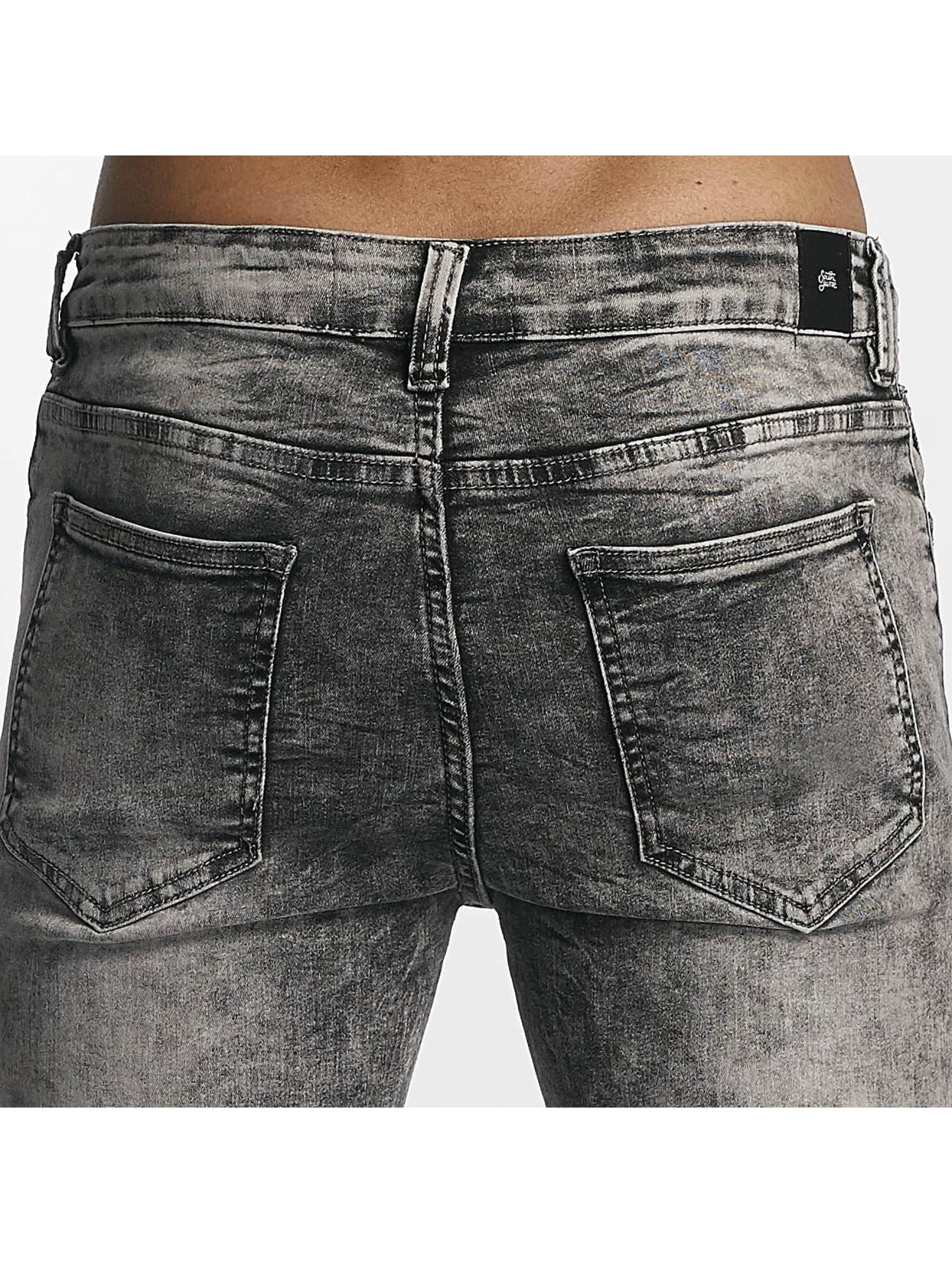 Sixth June Slim Fit Jeans Classic Slimfit grau