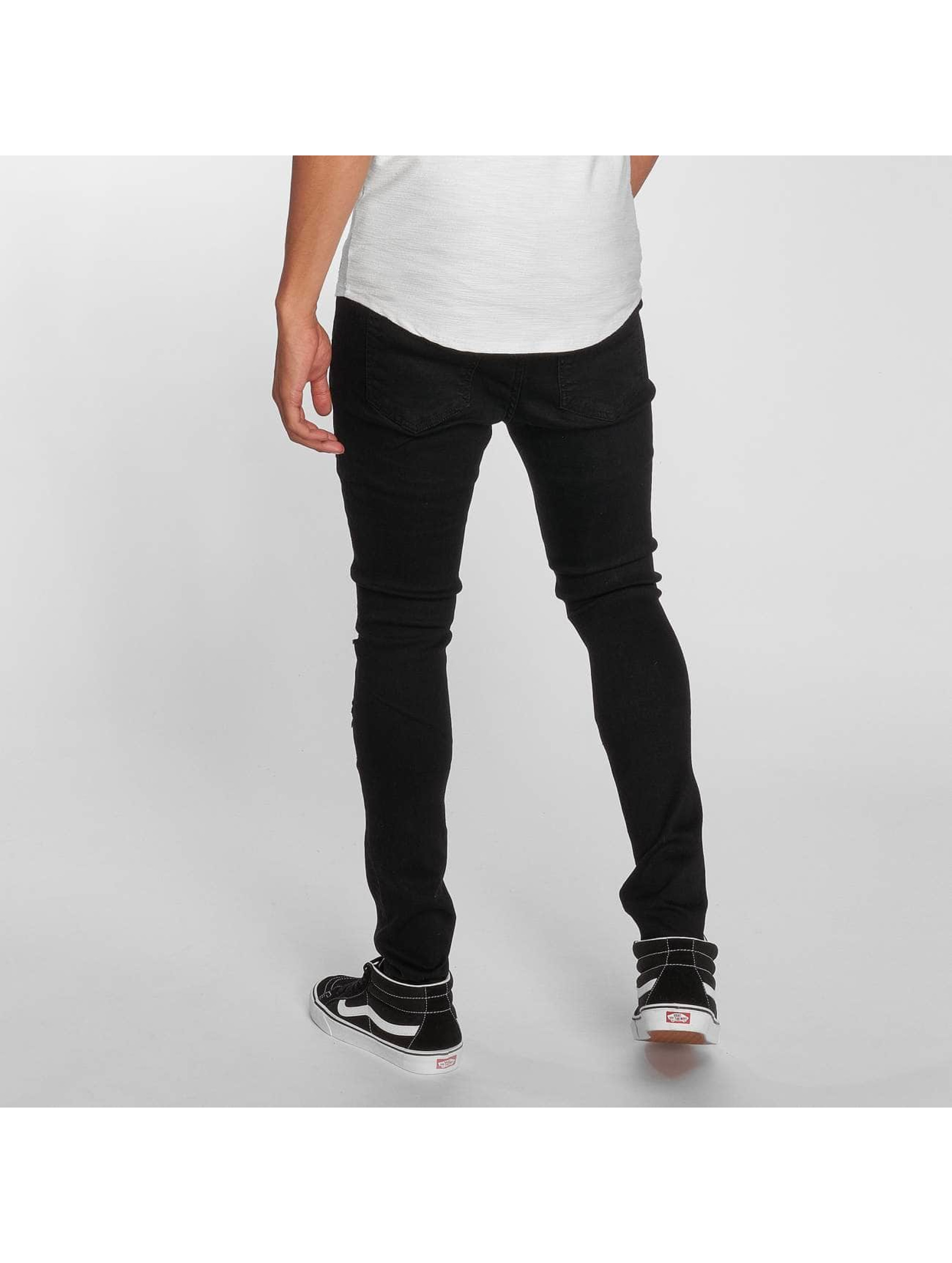 Sixth June Slim Fit Jeans Slim svart