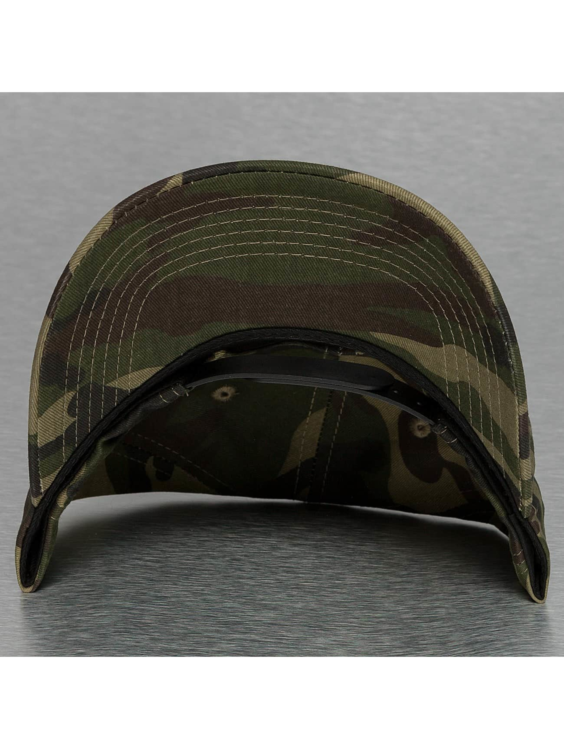Sixth June Snapback Cap Curved Logo camouflage