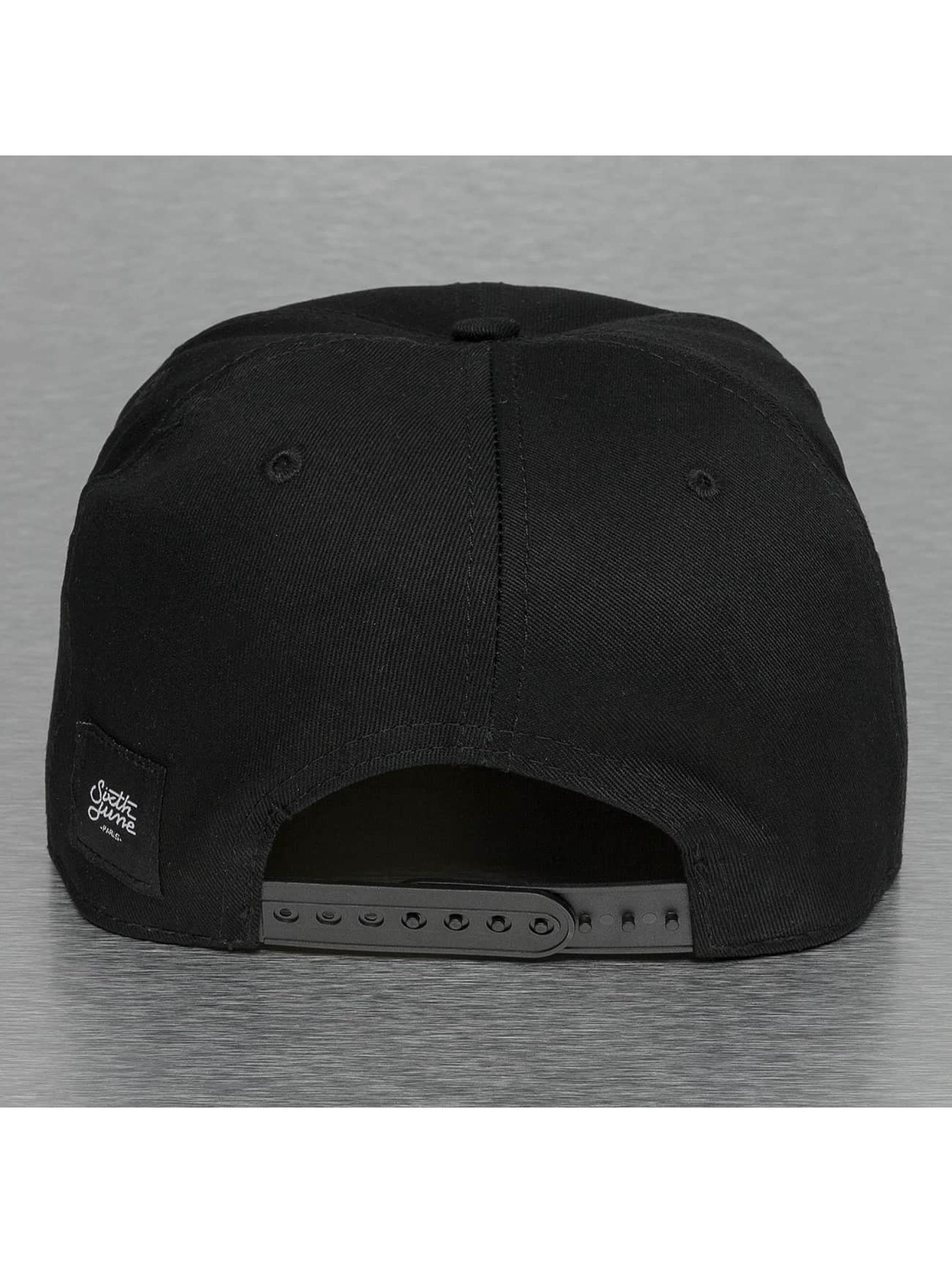 Sixth June snapback cap Basic zwart