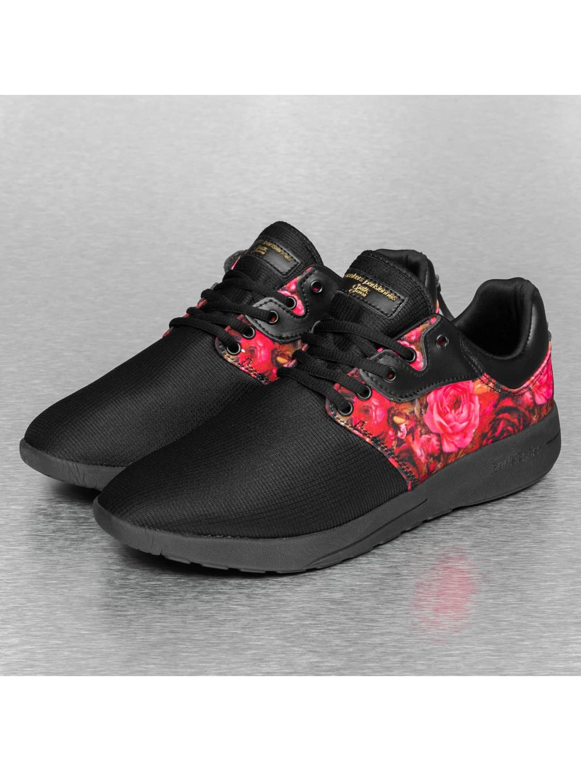 Sixth June Sneaker Flower II schwarz
