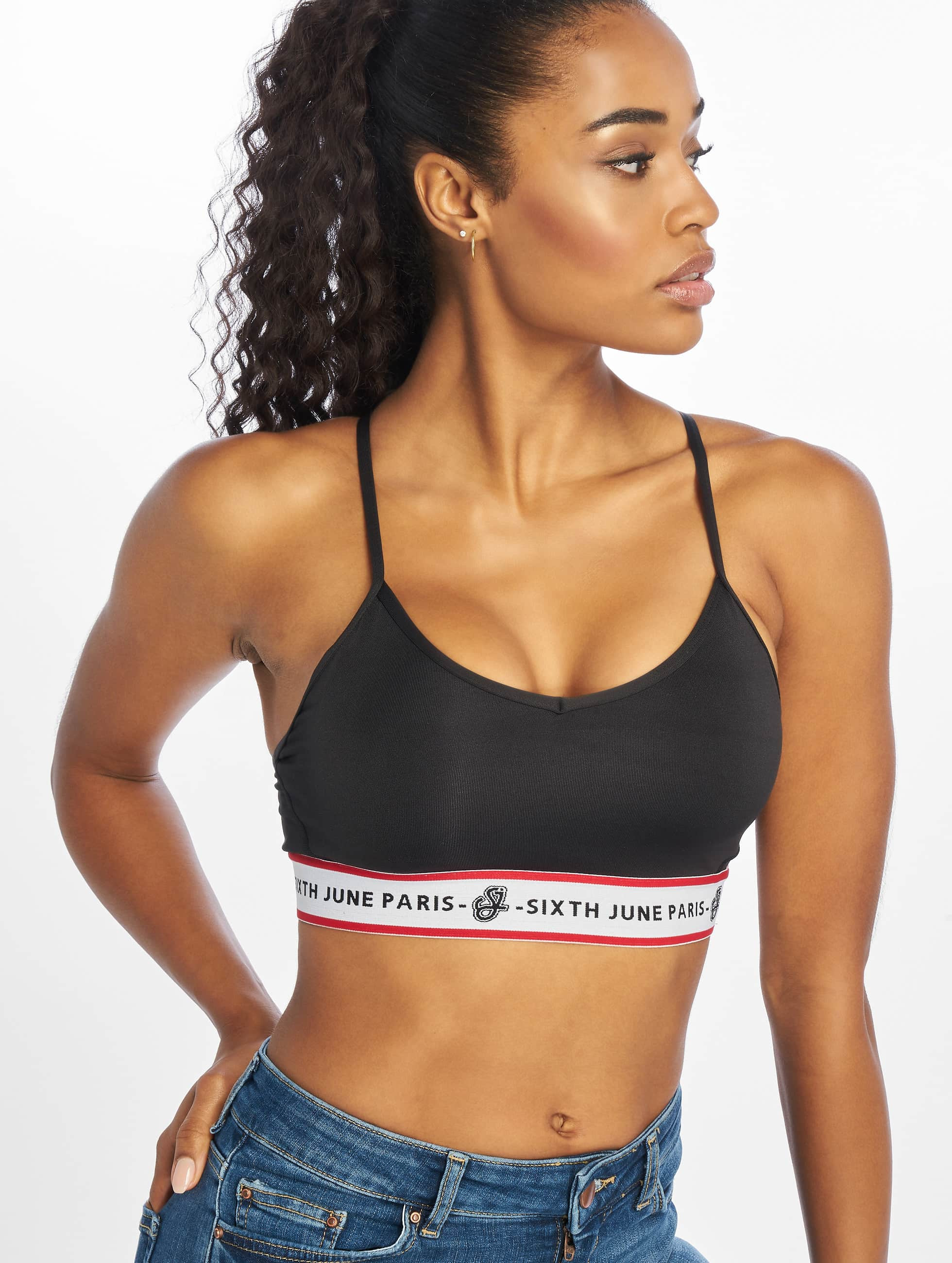 Sixth June Sports Bra Clara black