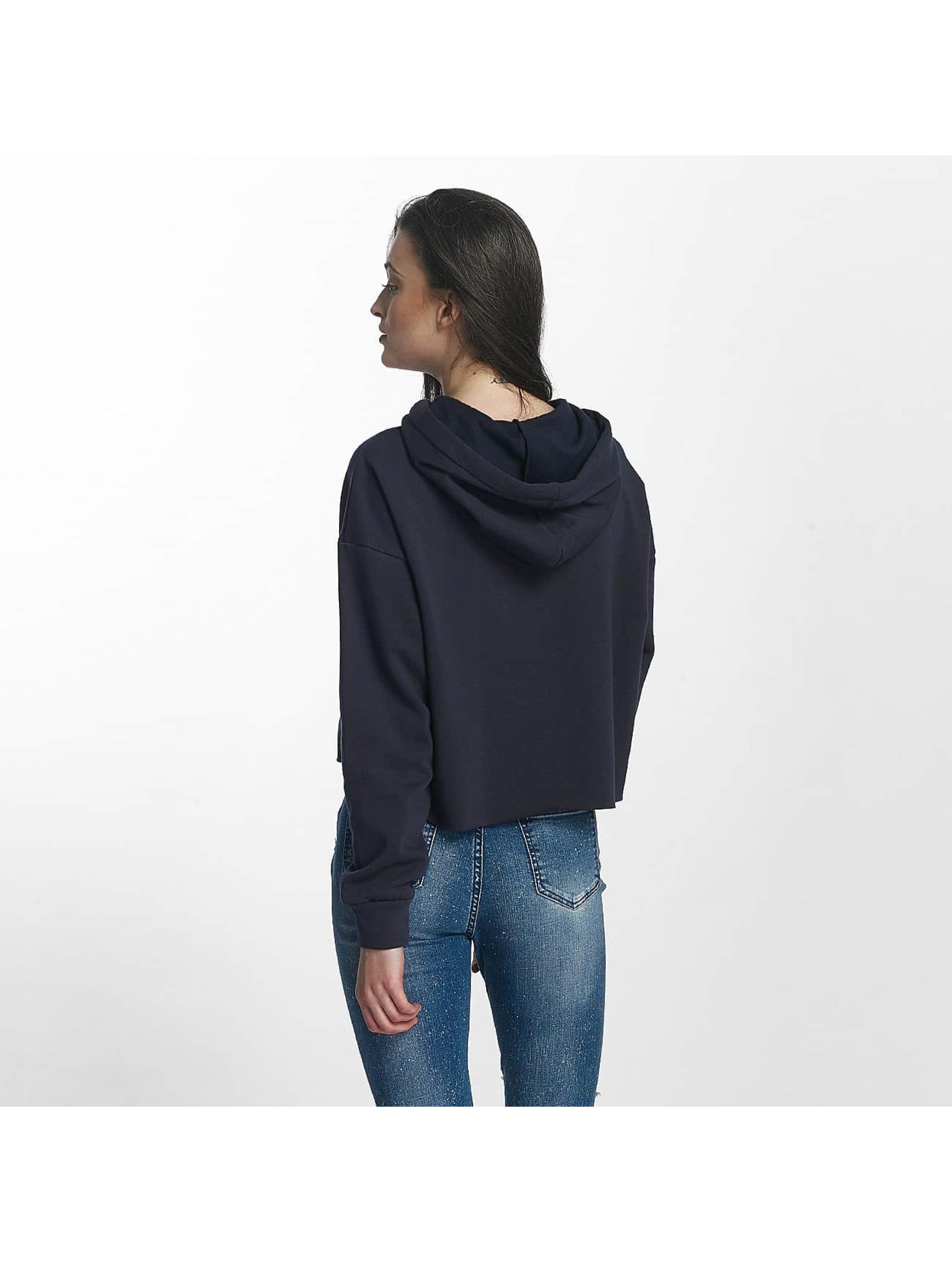 Sixth June Sudadera Classic Oversize Cropped azul
