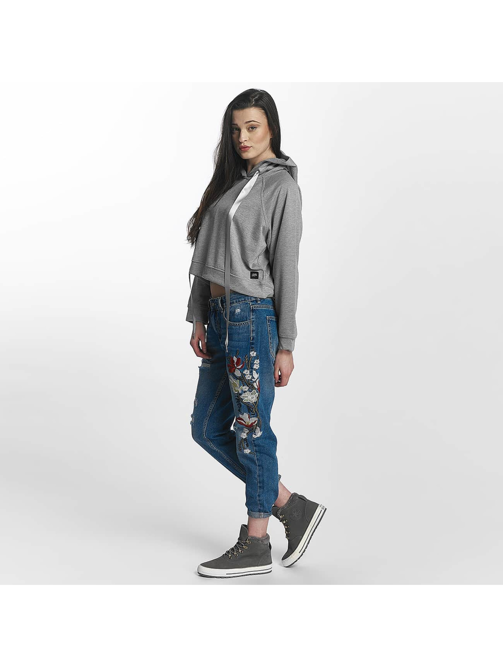 Sixth June Sudadera Cropped gris