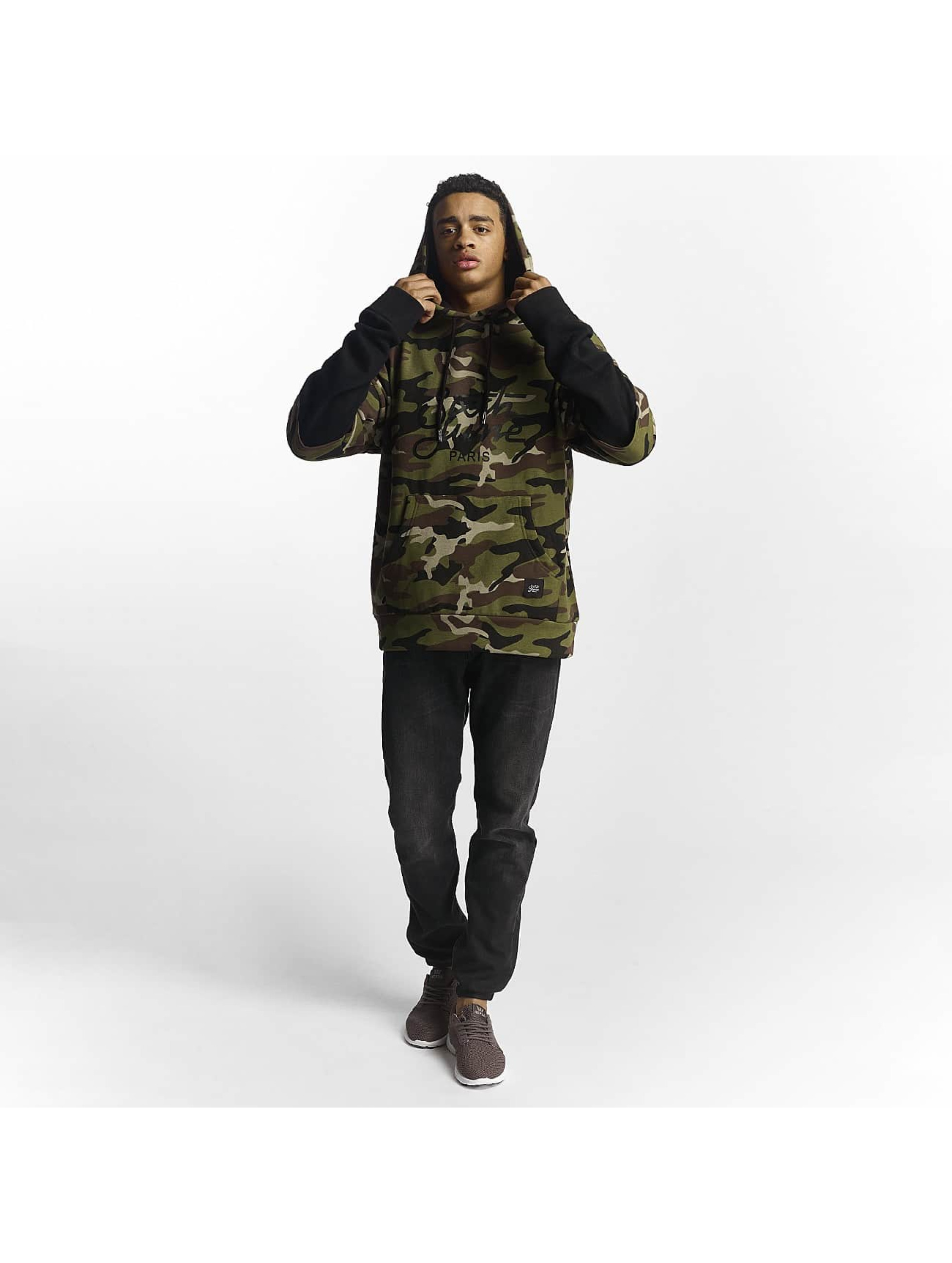 Sixth June Sweat capuche Double Sleeve camouflage