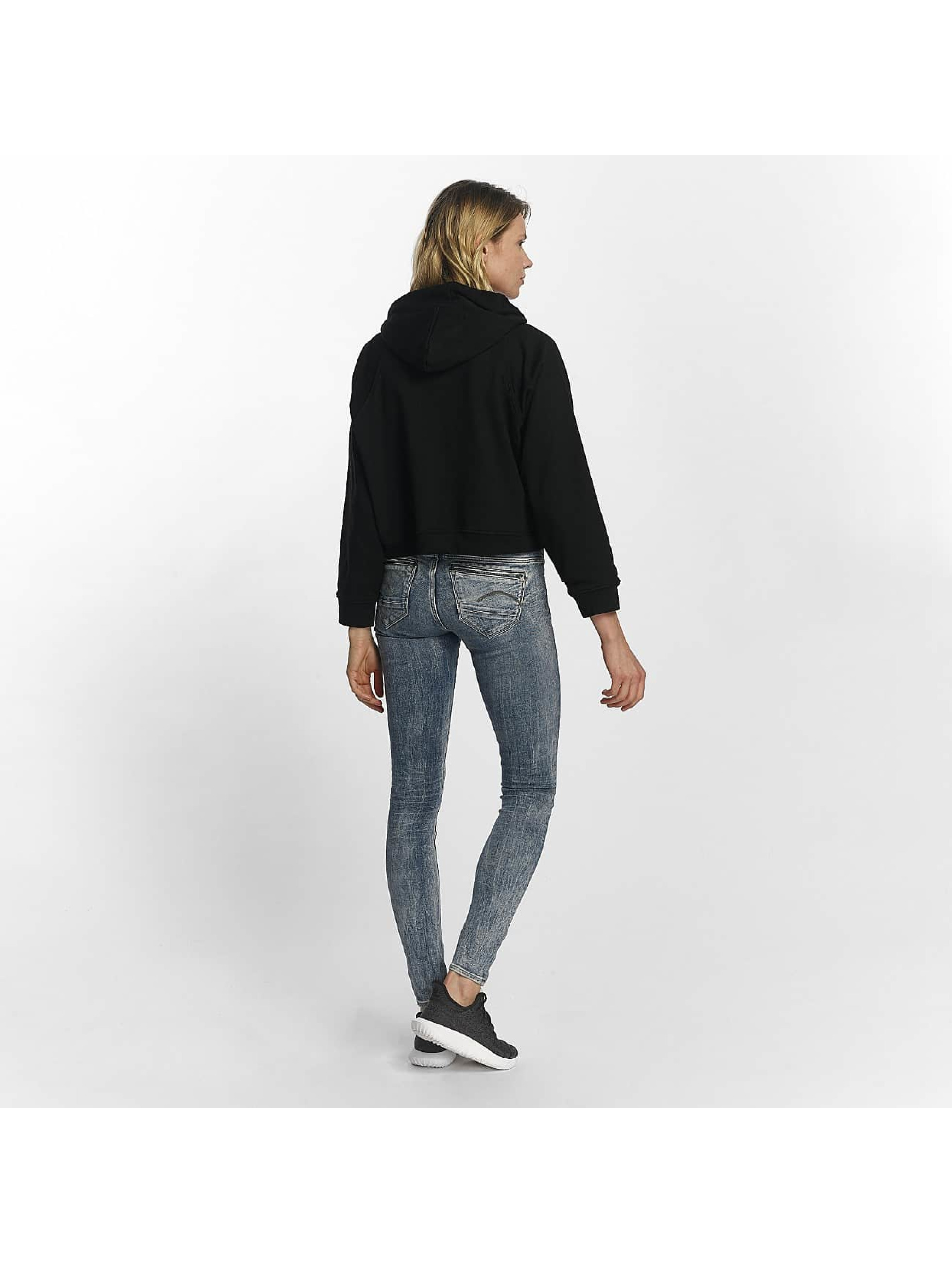 Sixth June Sweat capuche Cropped noir