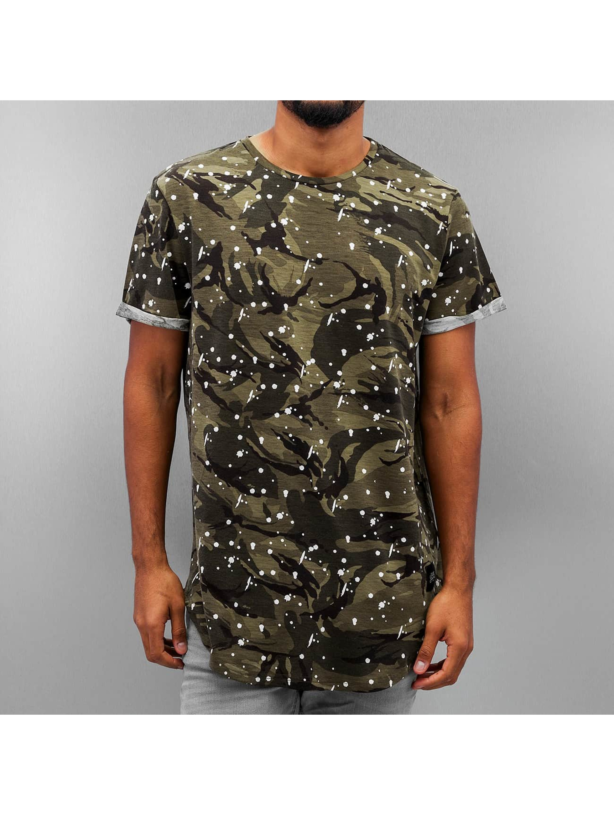 Sixth June Haut / T-Shirt Rounded Bottom en camouflage