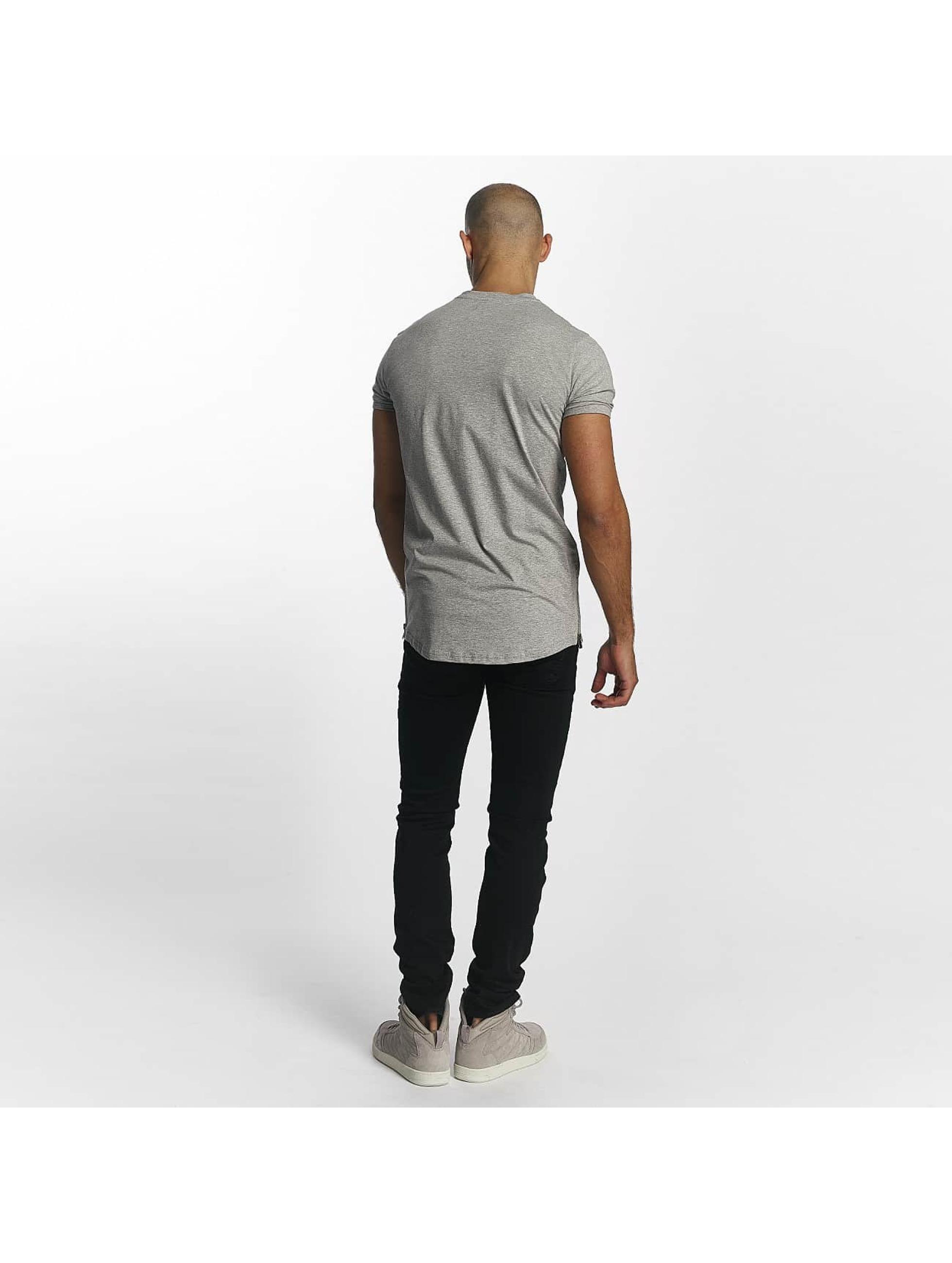 Sixth June T-Shirt Skinny Round Bottom gray