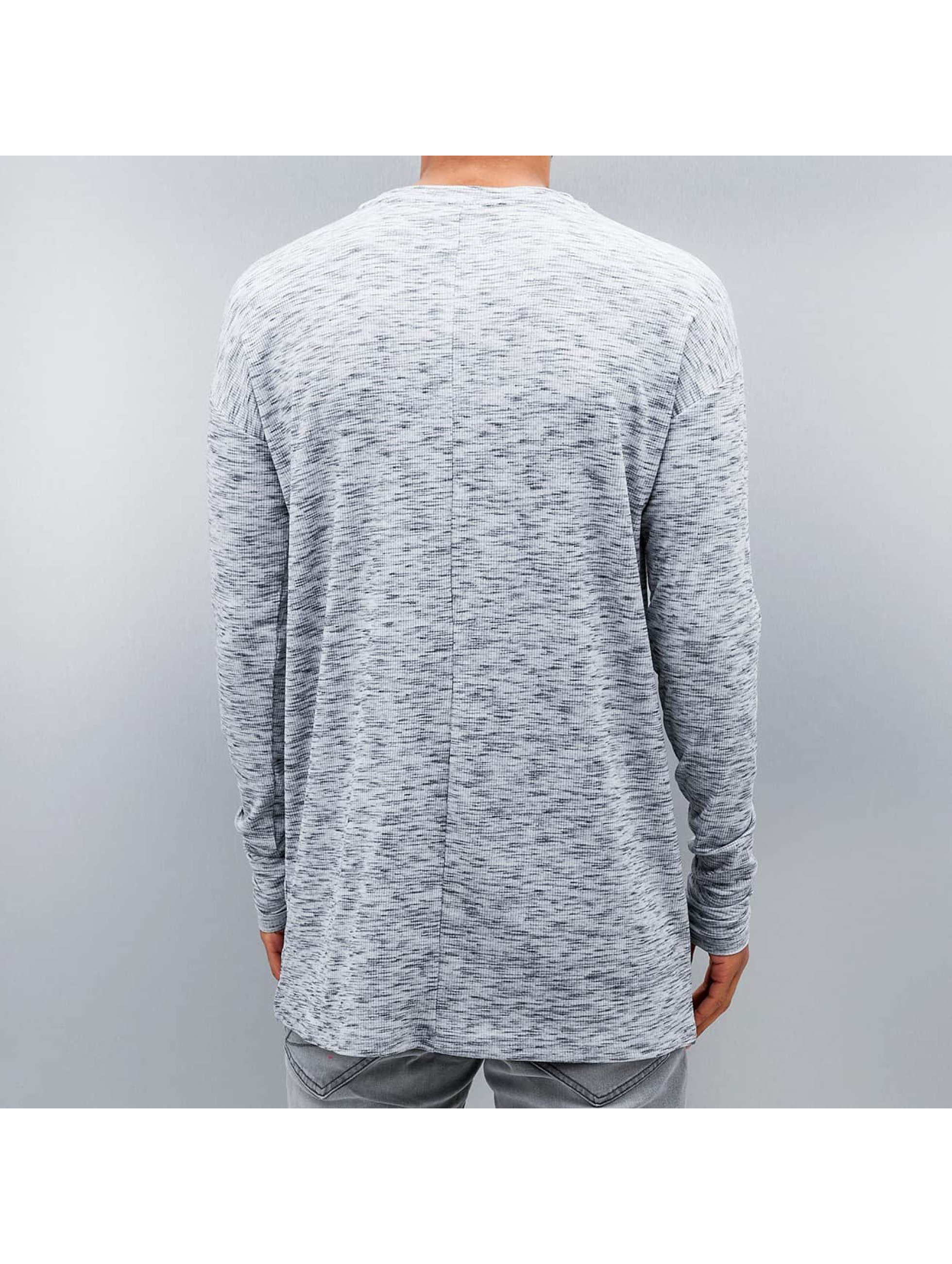 Sixth June T-Shirt manches longues Ripped blanc