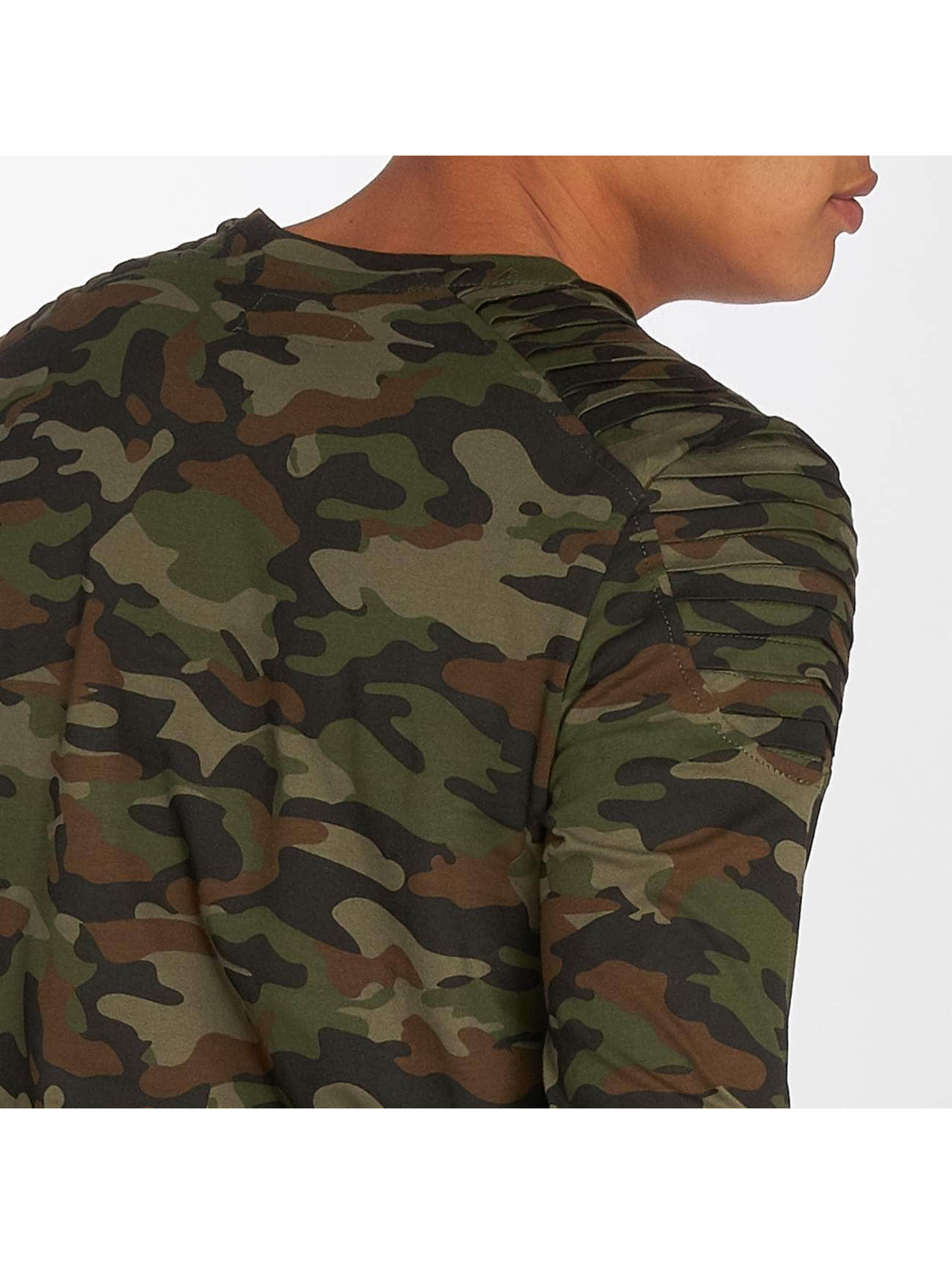 Sixth June T-Shirt manches longues Biker camouflage
