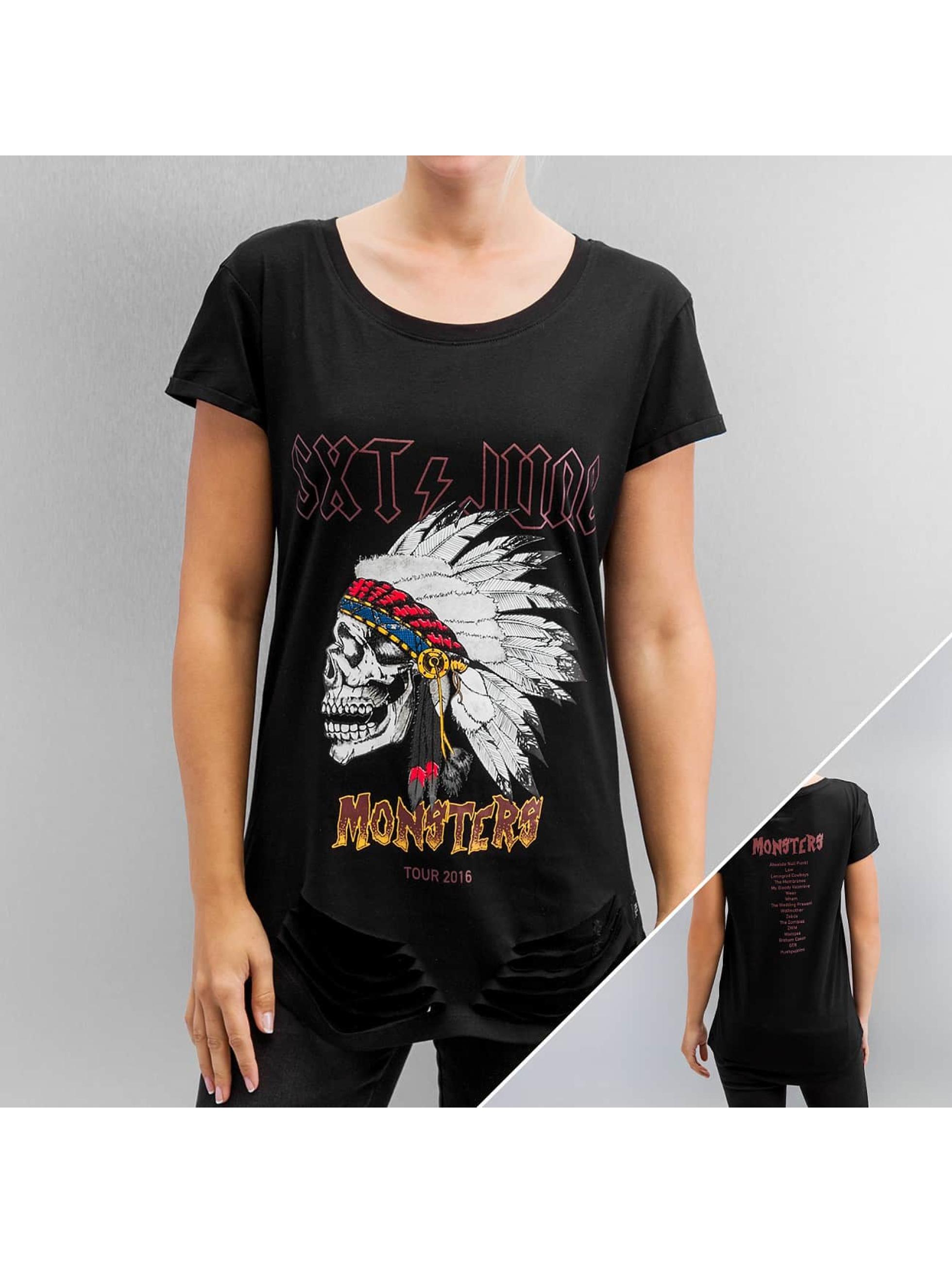 Sixth June T-Shirt Rock & Roll noir