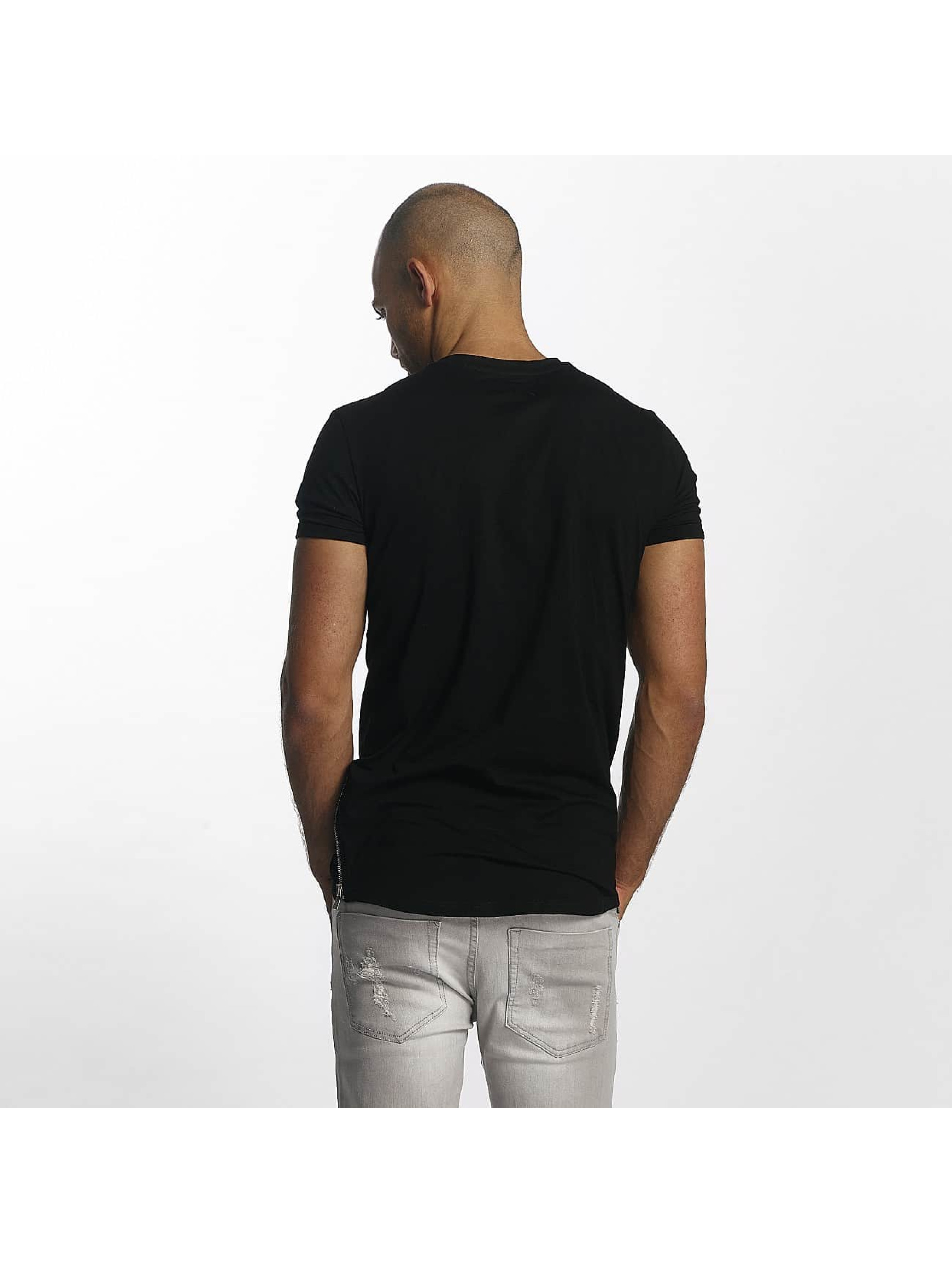Sixth June T-Shirt Skinny Round Bottom noir
