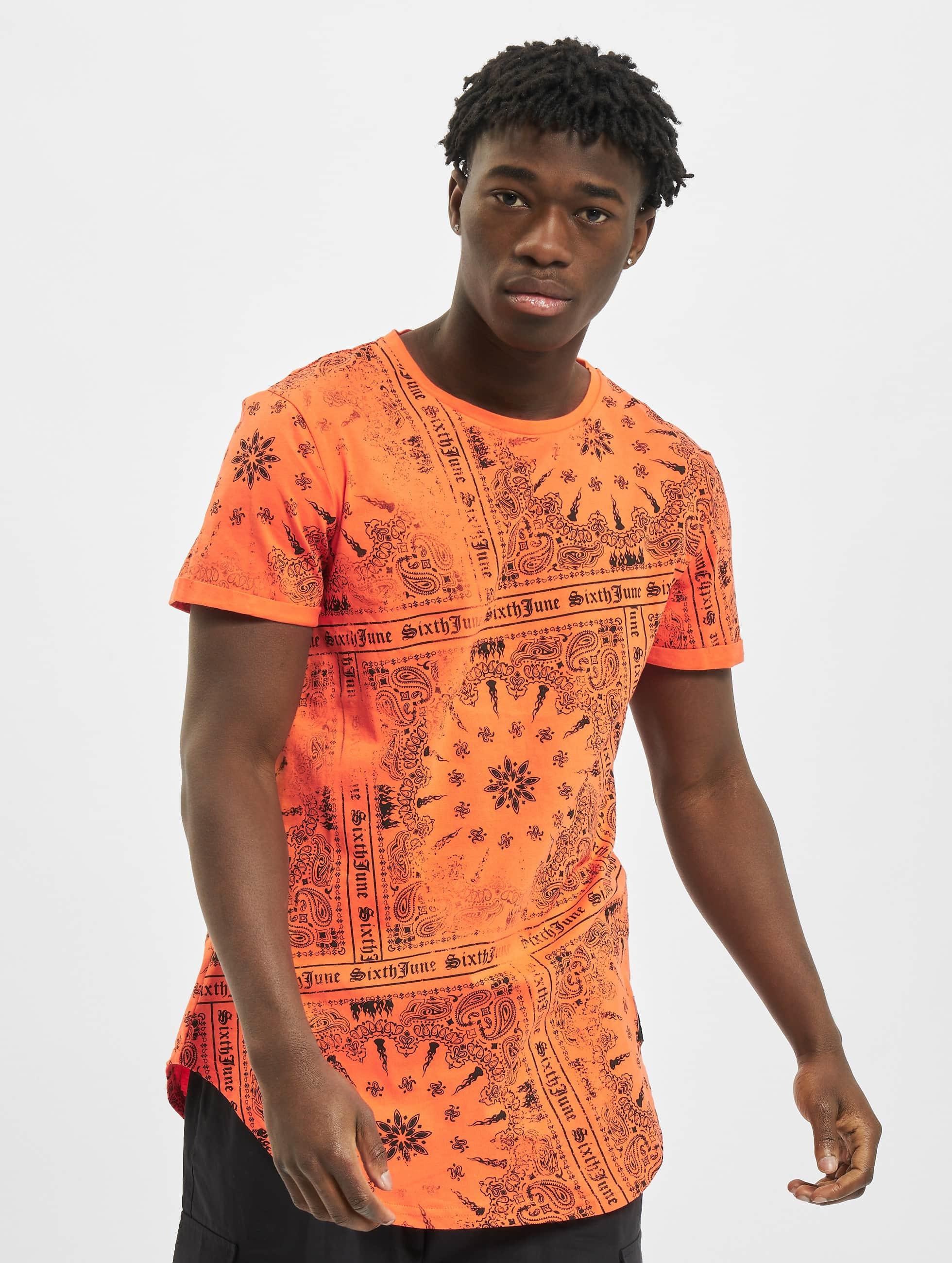 Sixth June t-shirt Myron oranje