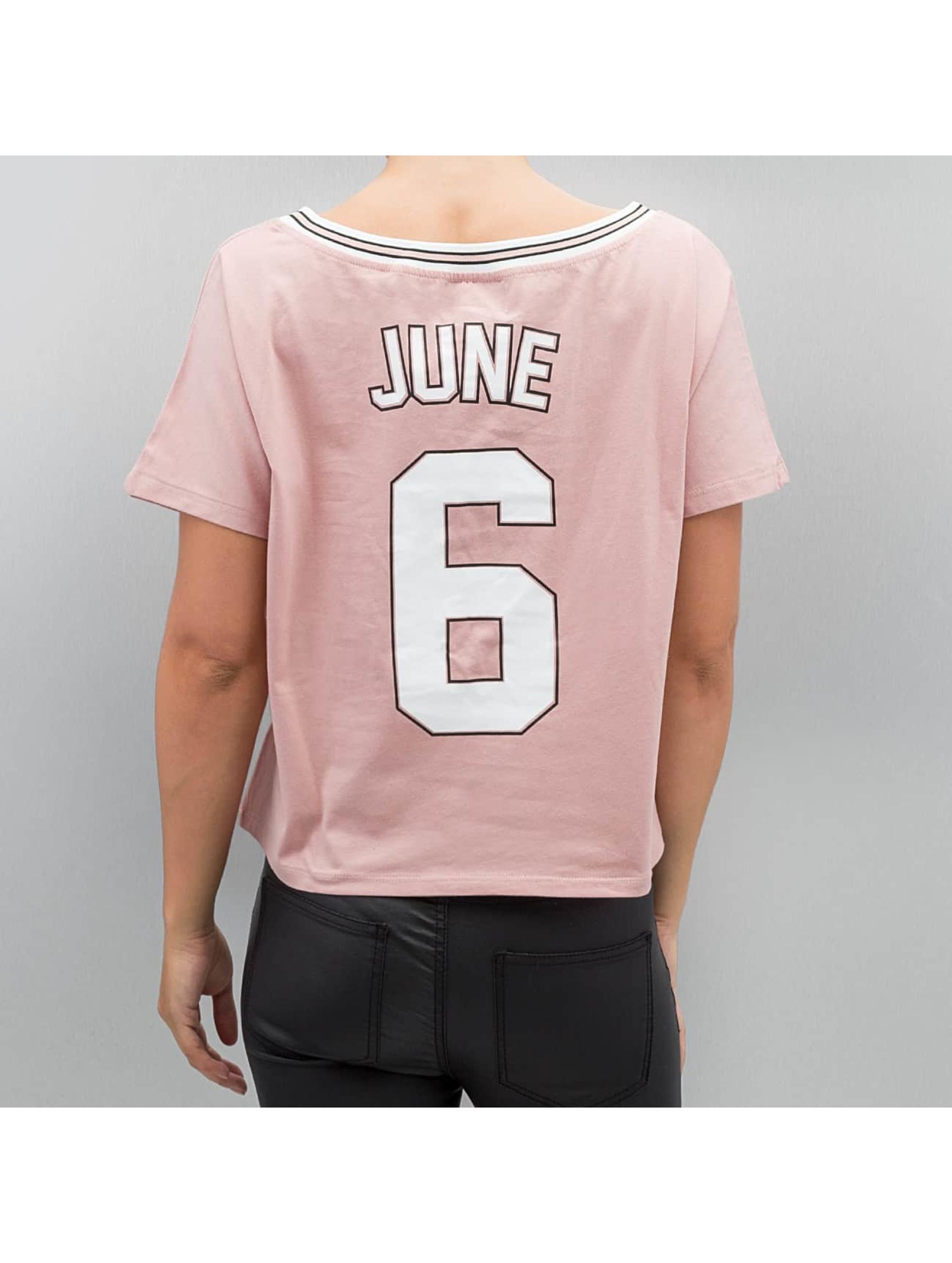 Sixth June T-Shirt Cropped rosa