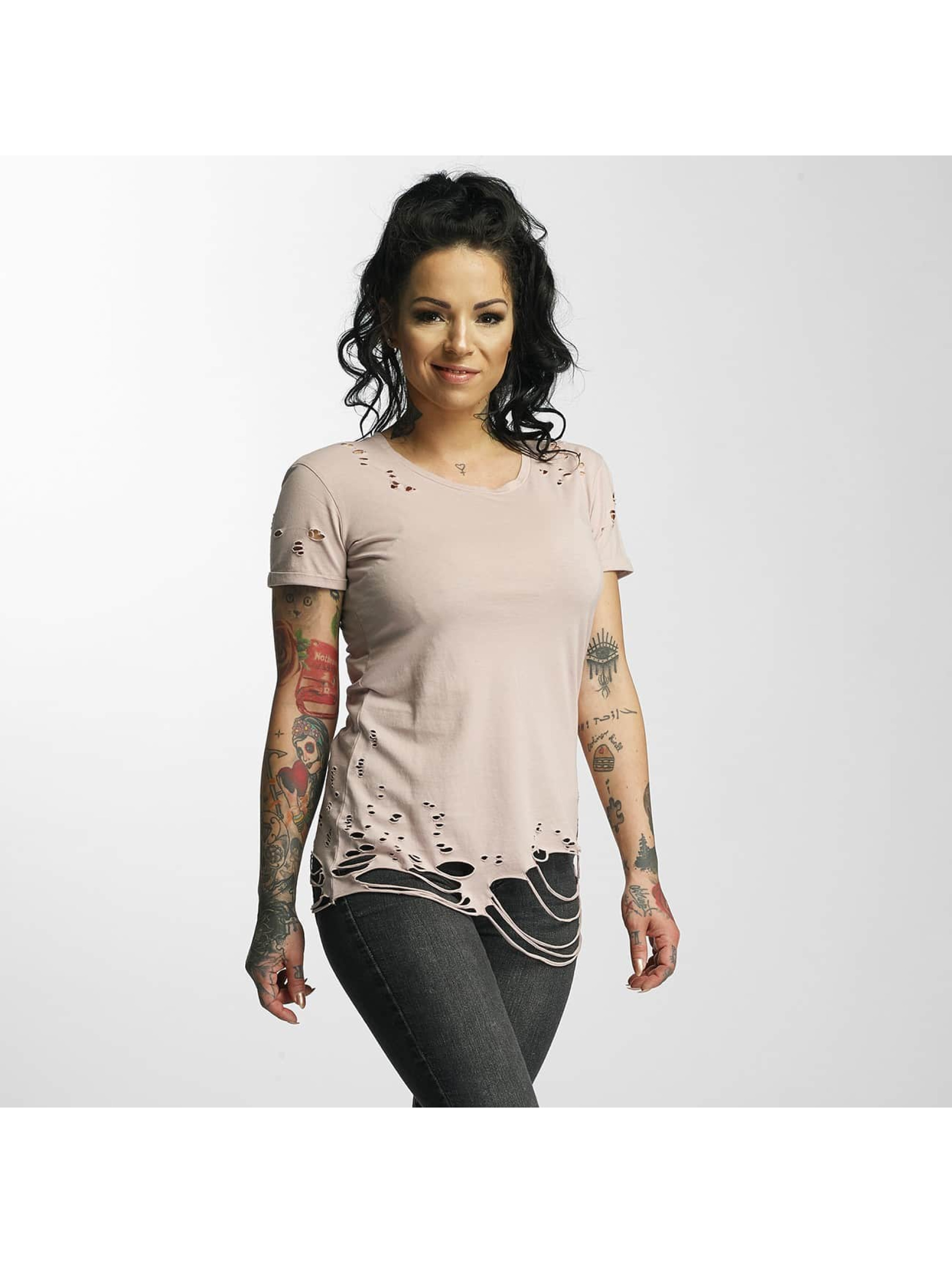 Sixth June T-Shirt Destroyed rosa