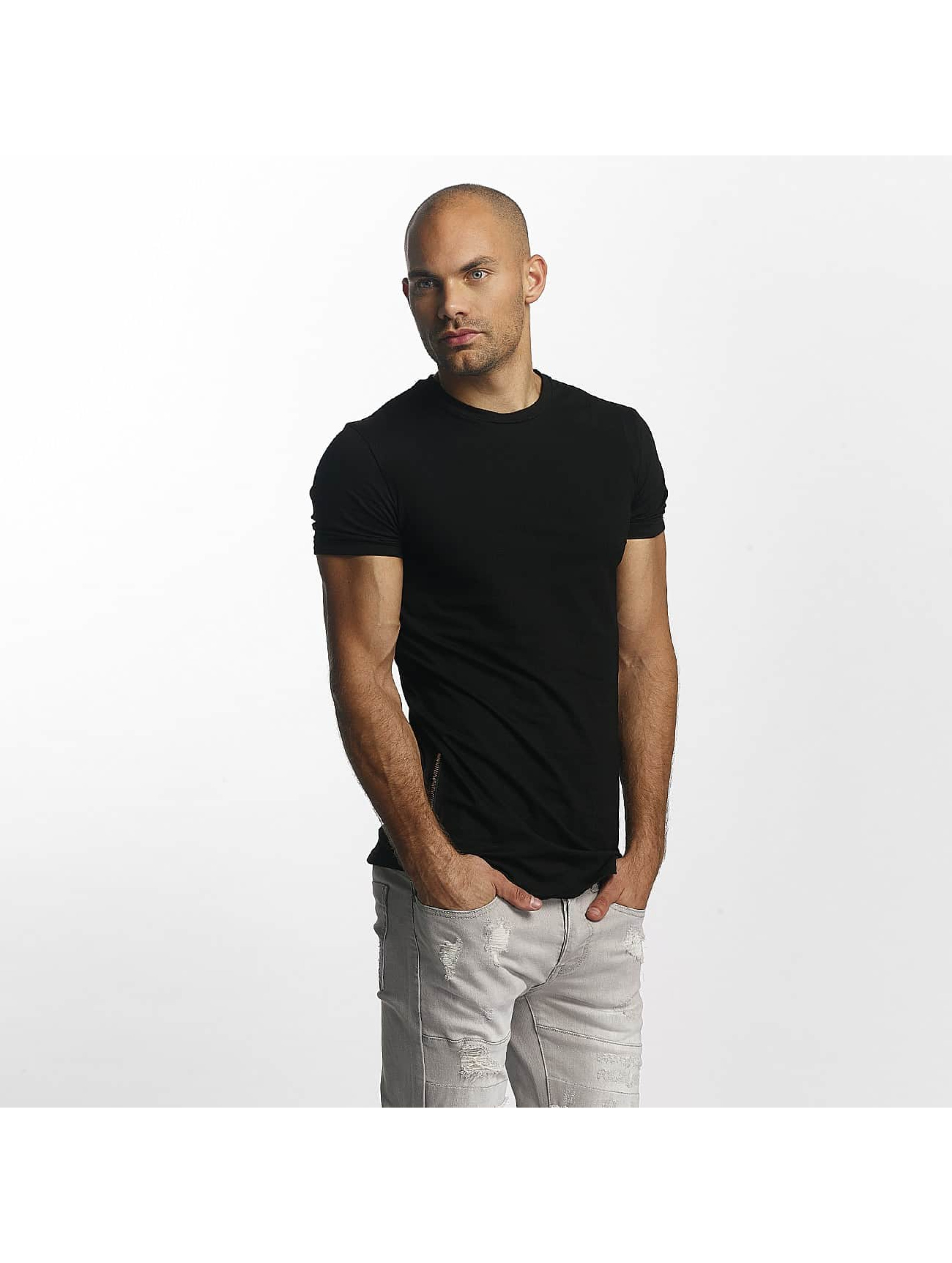 Sixth June T-Shirt Skinny Round Bottom schwarz