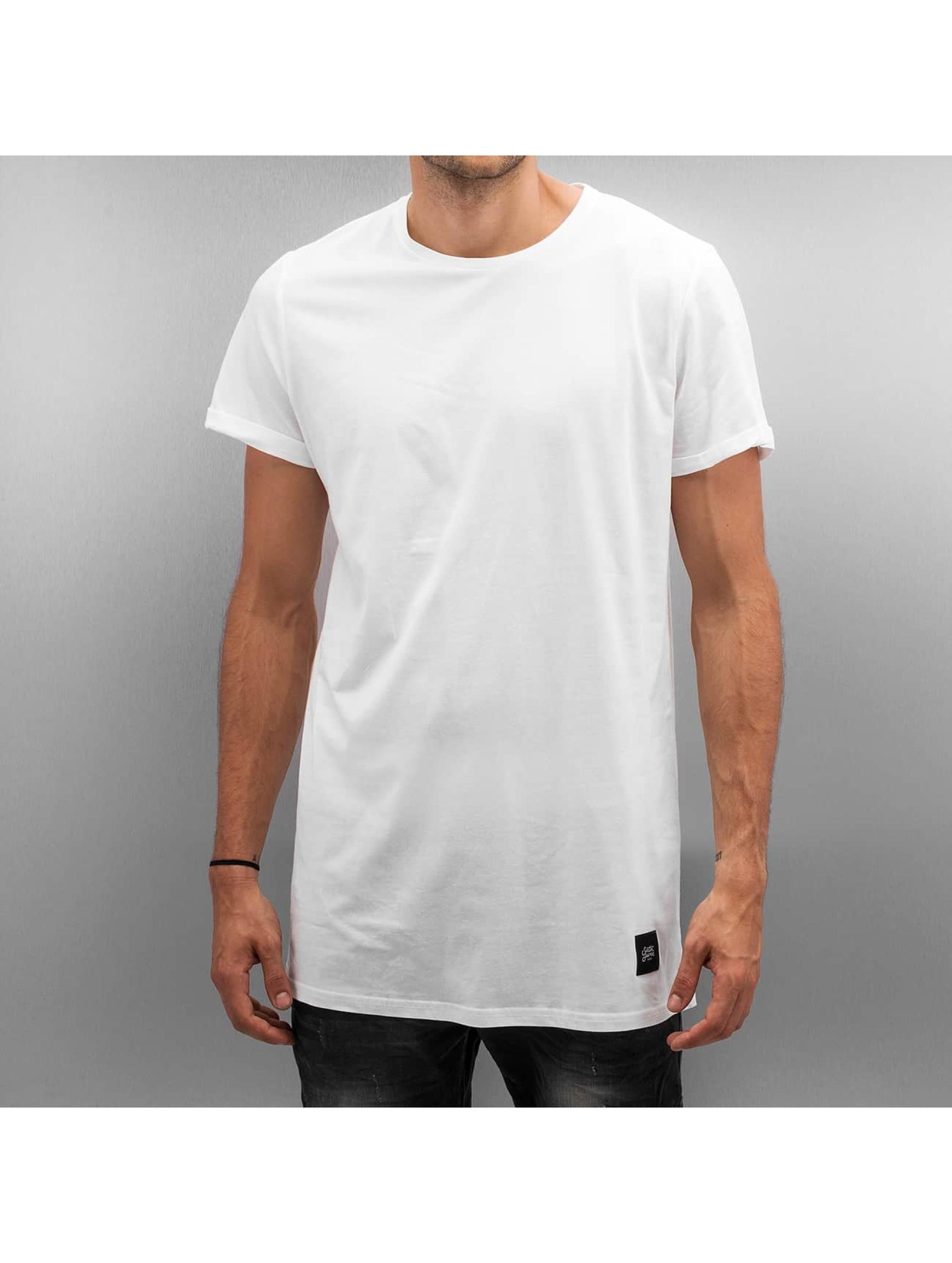T-Shirt Long in weiß