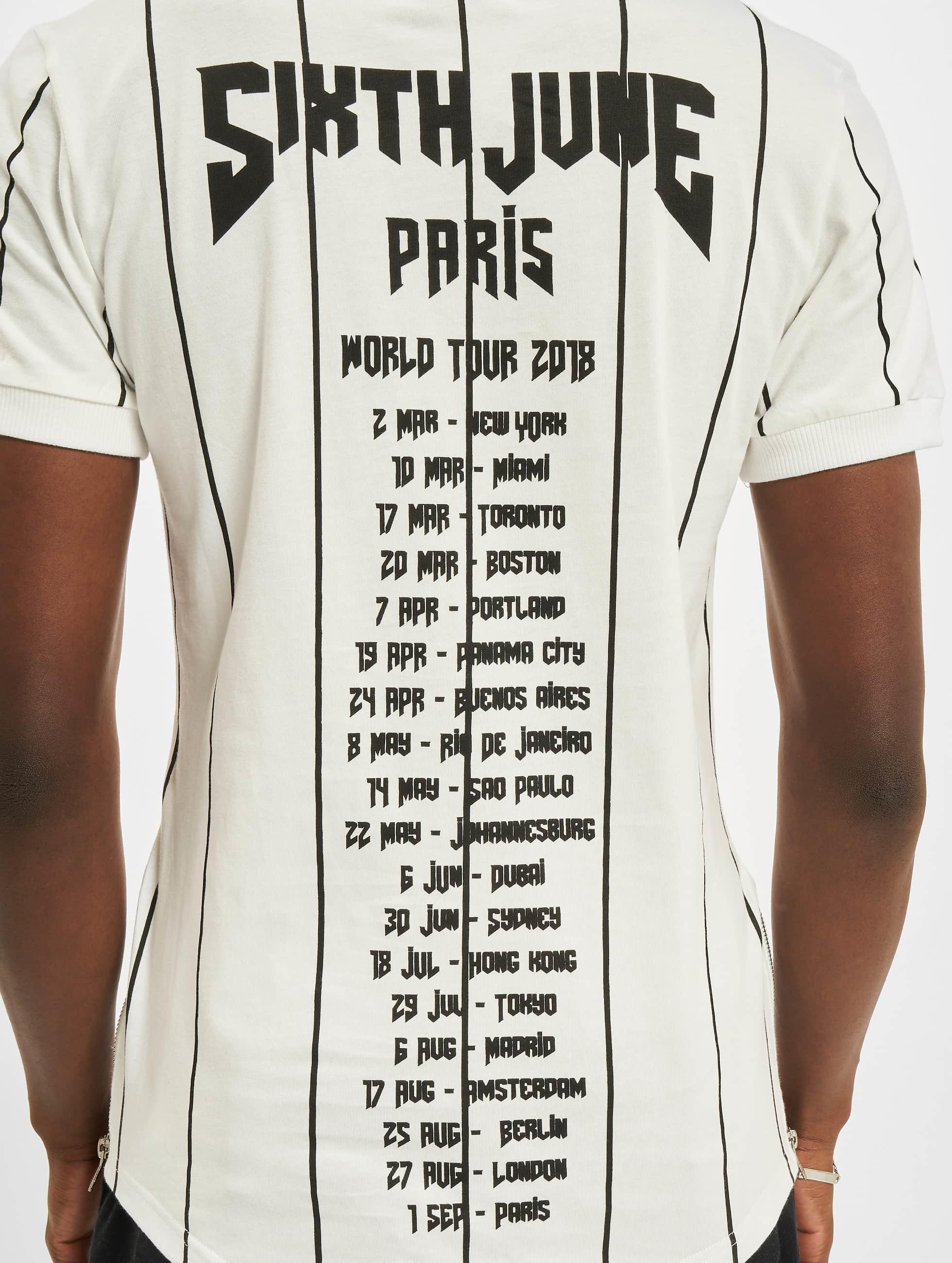 Sixth June T-Shirt Lines weiß